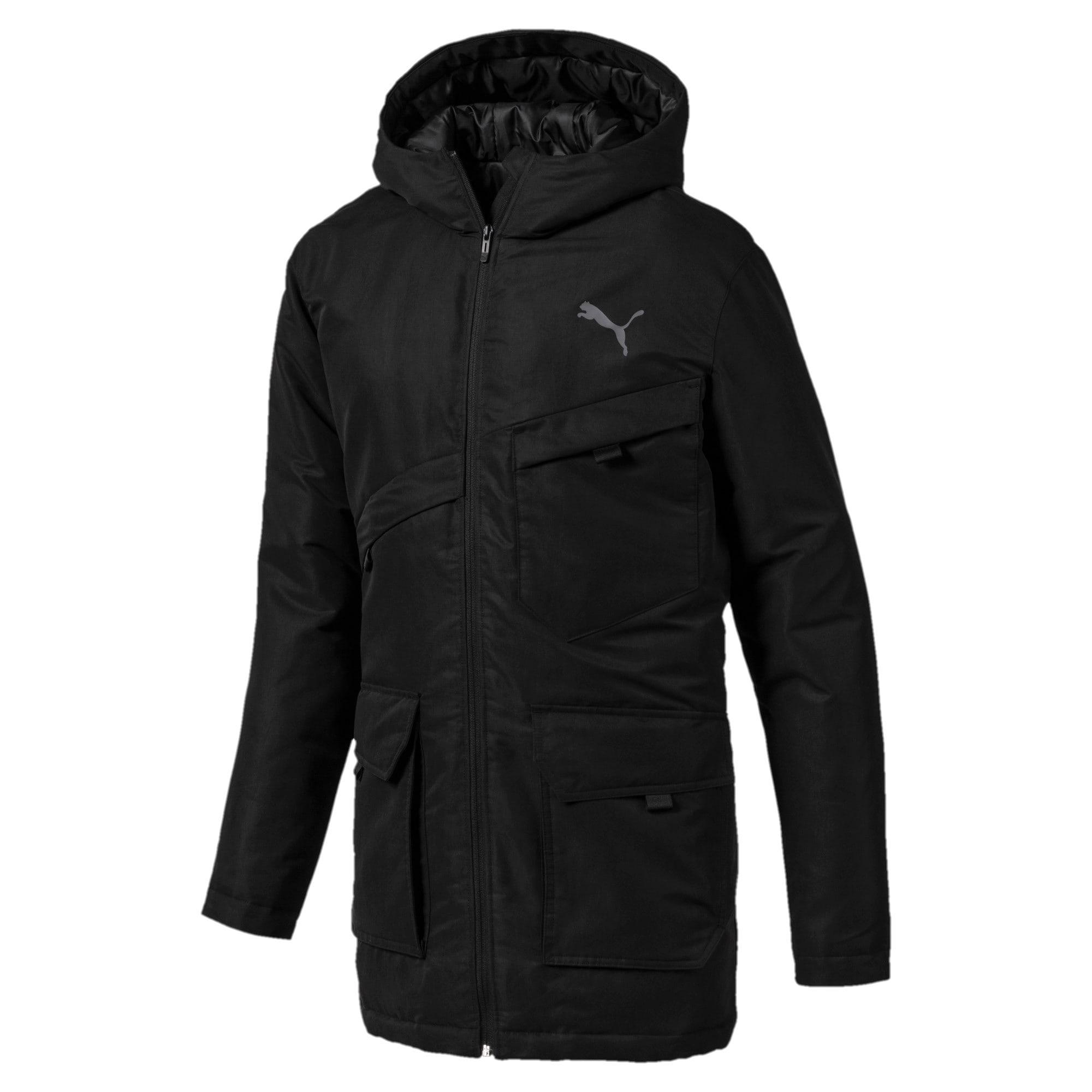 Thumbnail 1 of Essentials Protect Men's Jacket, Puma Black, medium