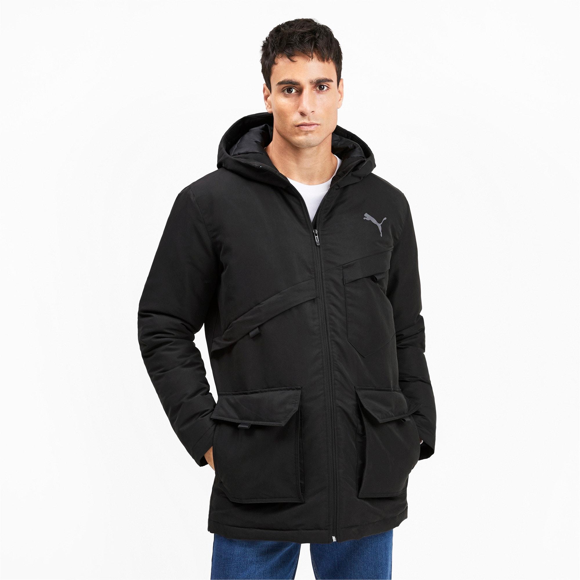 Thumbnail 2 of Essentials Protect Men's Jacket, Puma Black, medium