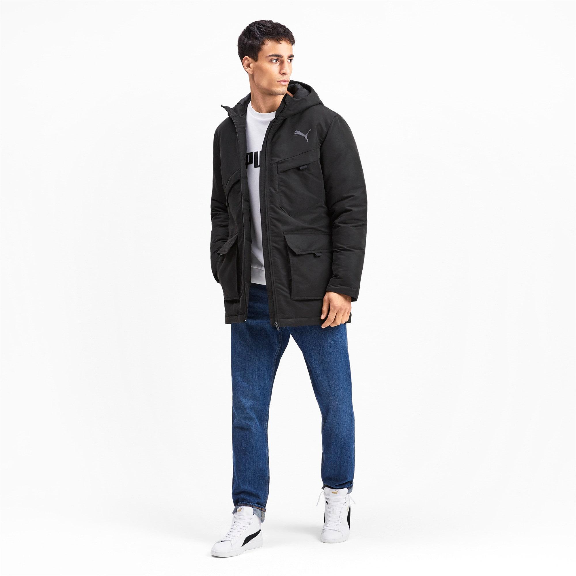 Thumbnail 4 of Essentials Protect Men's Jacket, Puma Black, medium