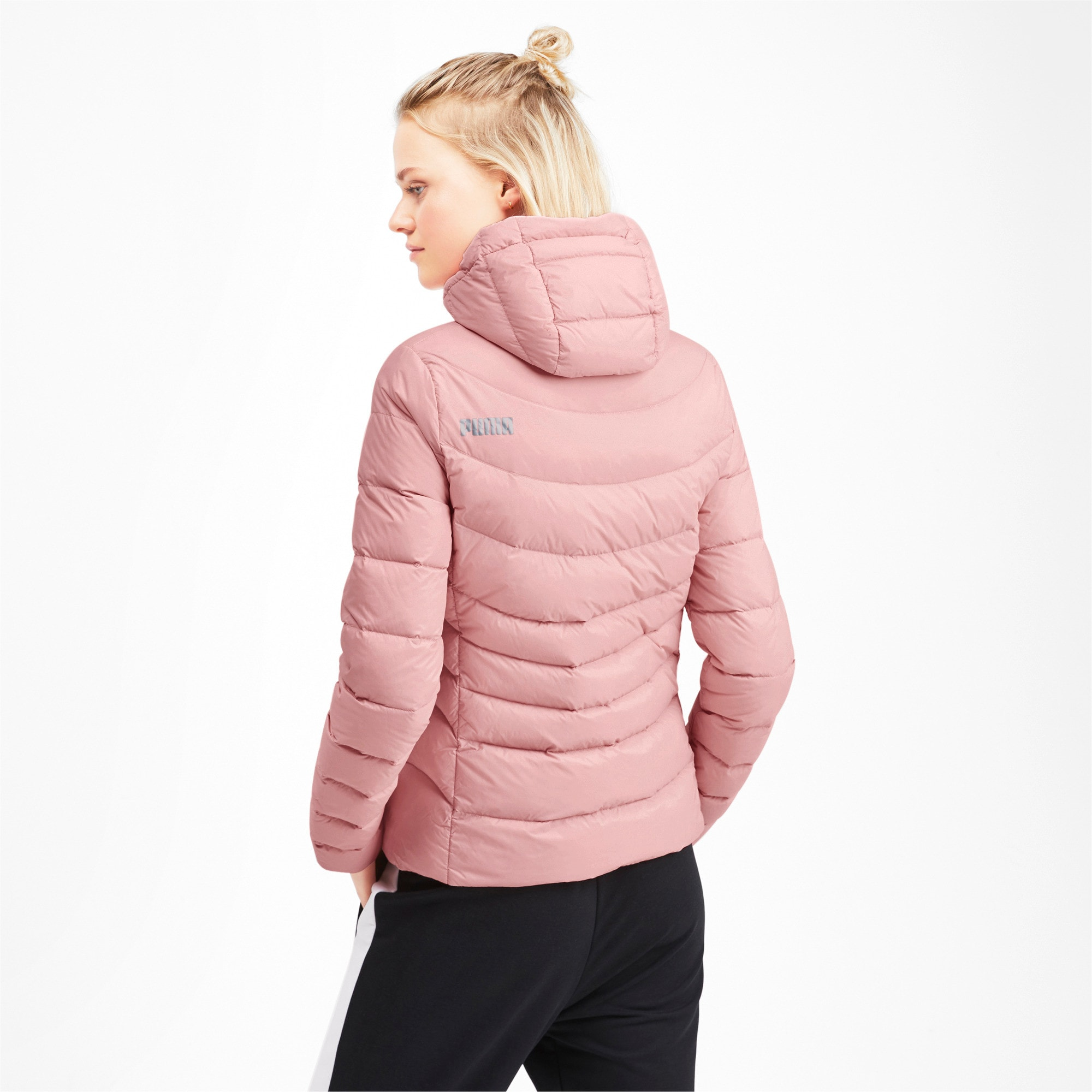 Thumbnail 2 of PWRWARM X packLITE 600 HD Damen Daunenjacke, Bridal Rose, medium
