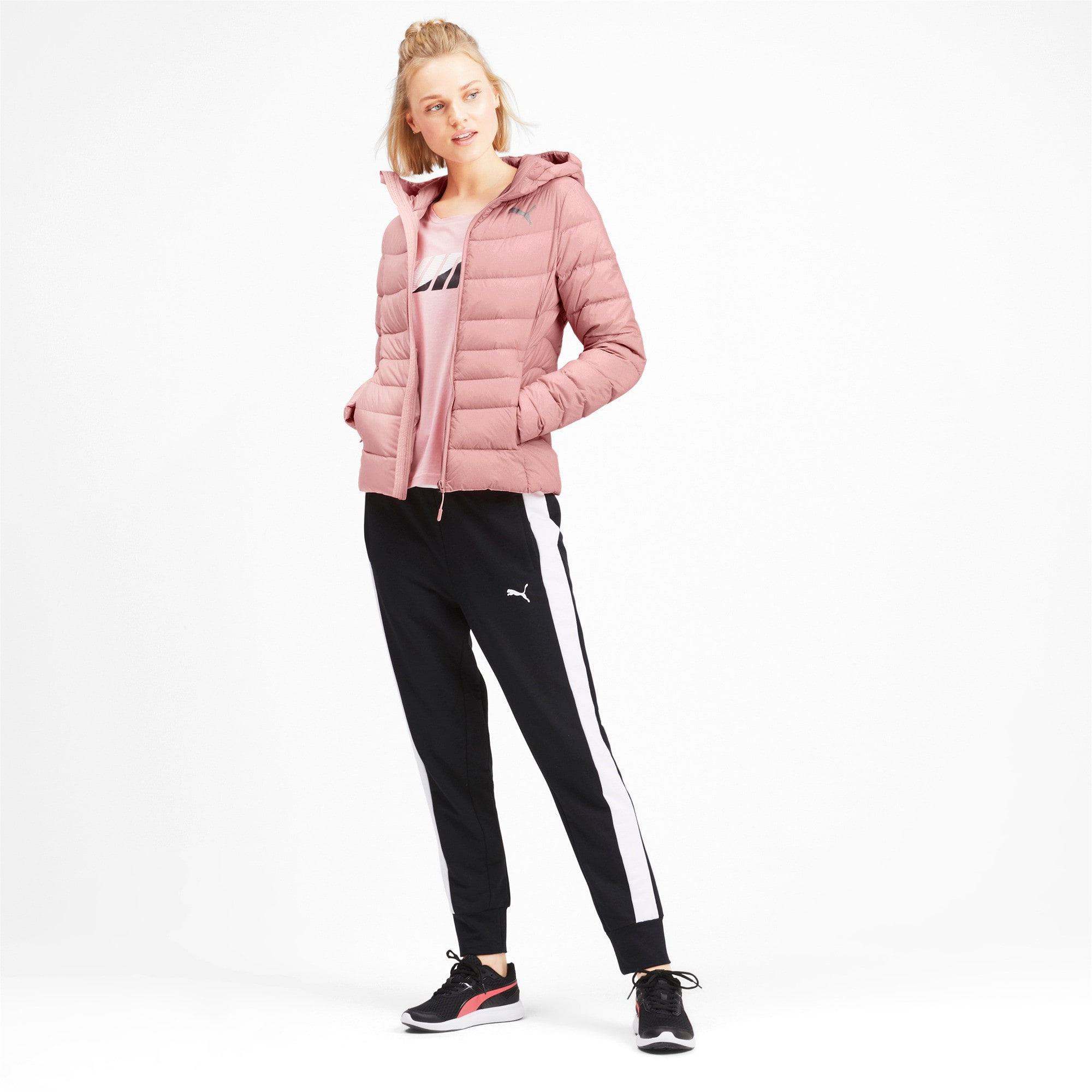 Thumbnail 3 of PWRWARM X packLITE 600 HD Damen Daunenjacke, Bridal Rose, medium