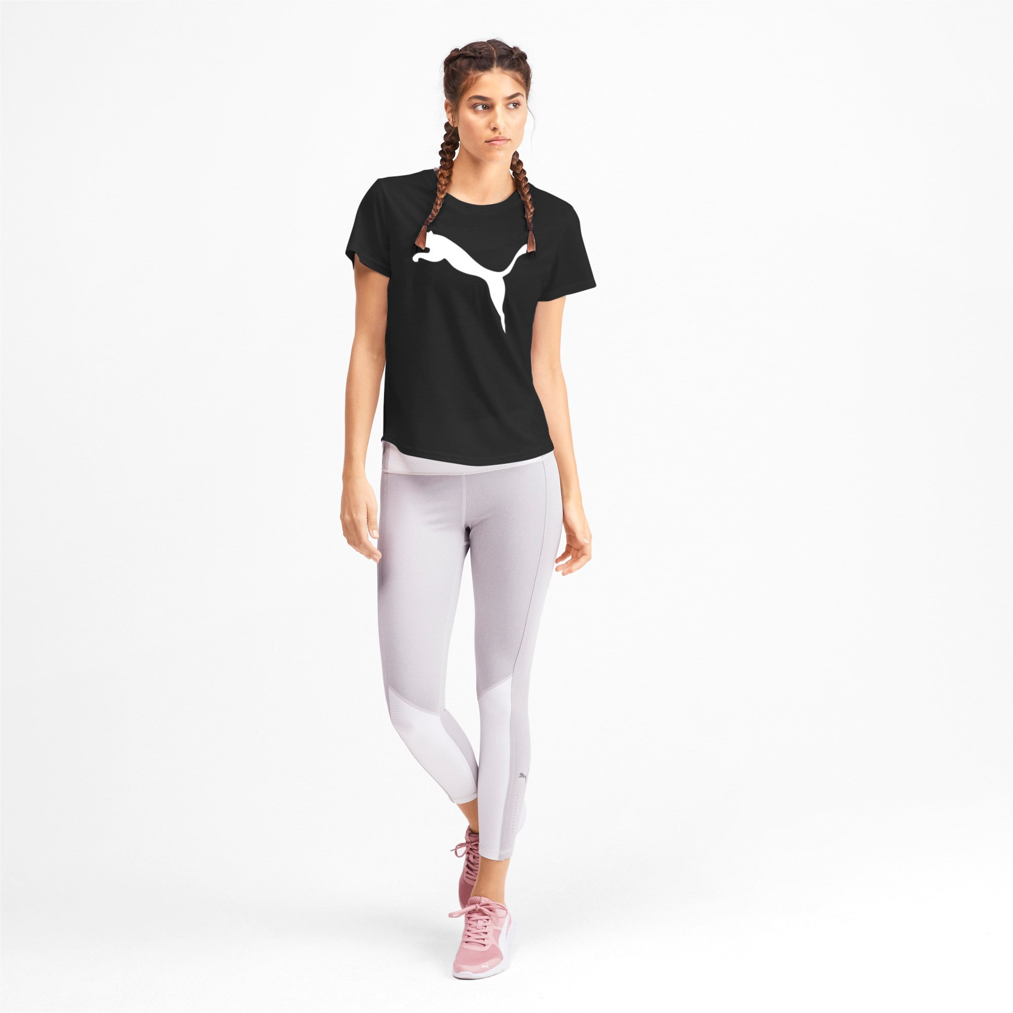 Thumbnail 3 of Evostripe Women's Tee, Puma White, medium