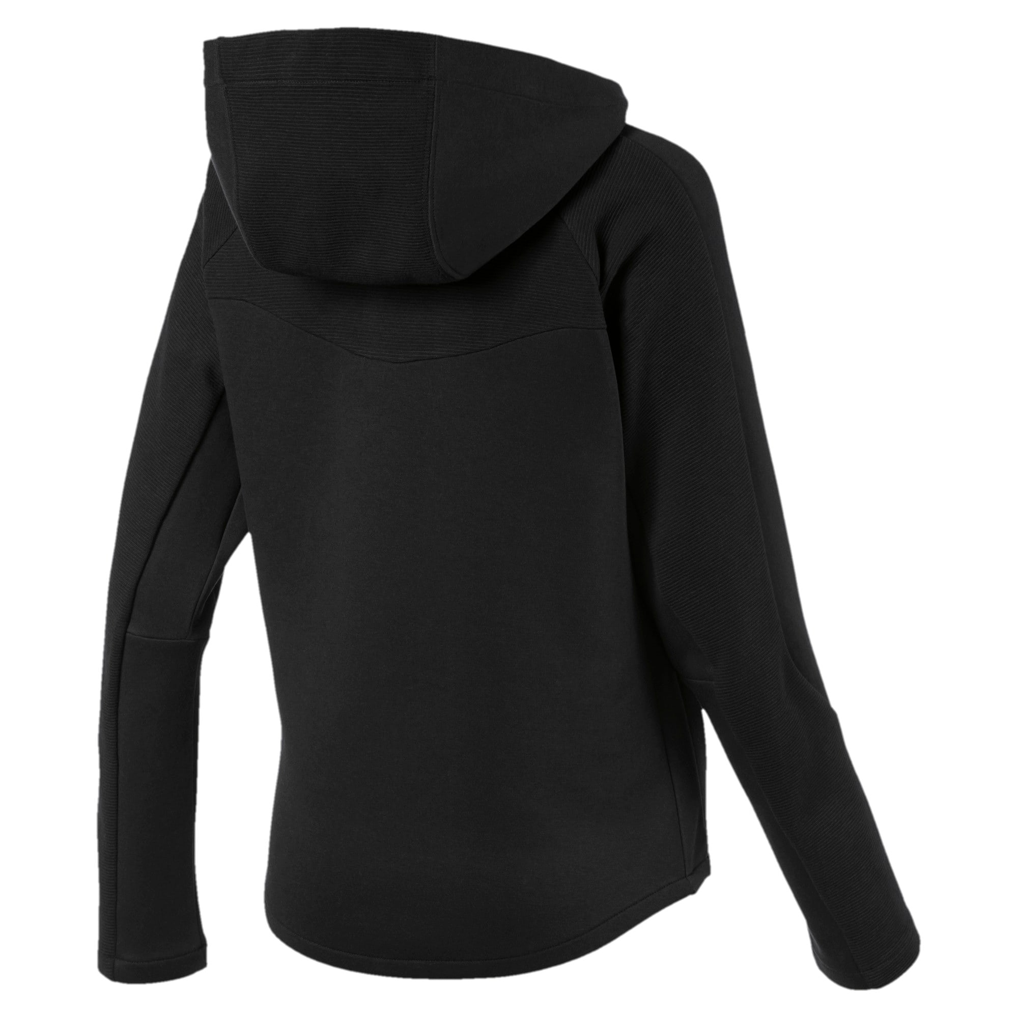 Thumbnail 5 of Evostripe Damen Sweatjacke mit Kapuze, Puma Black, medium