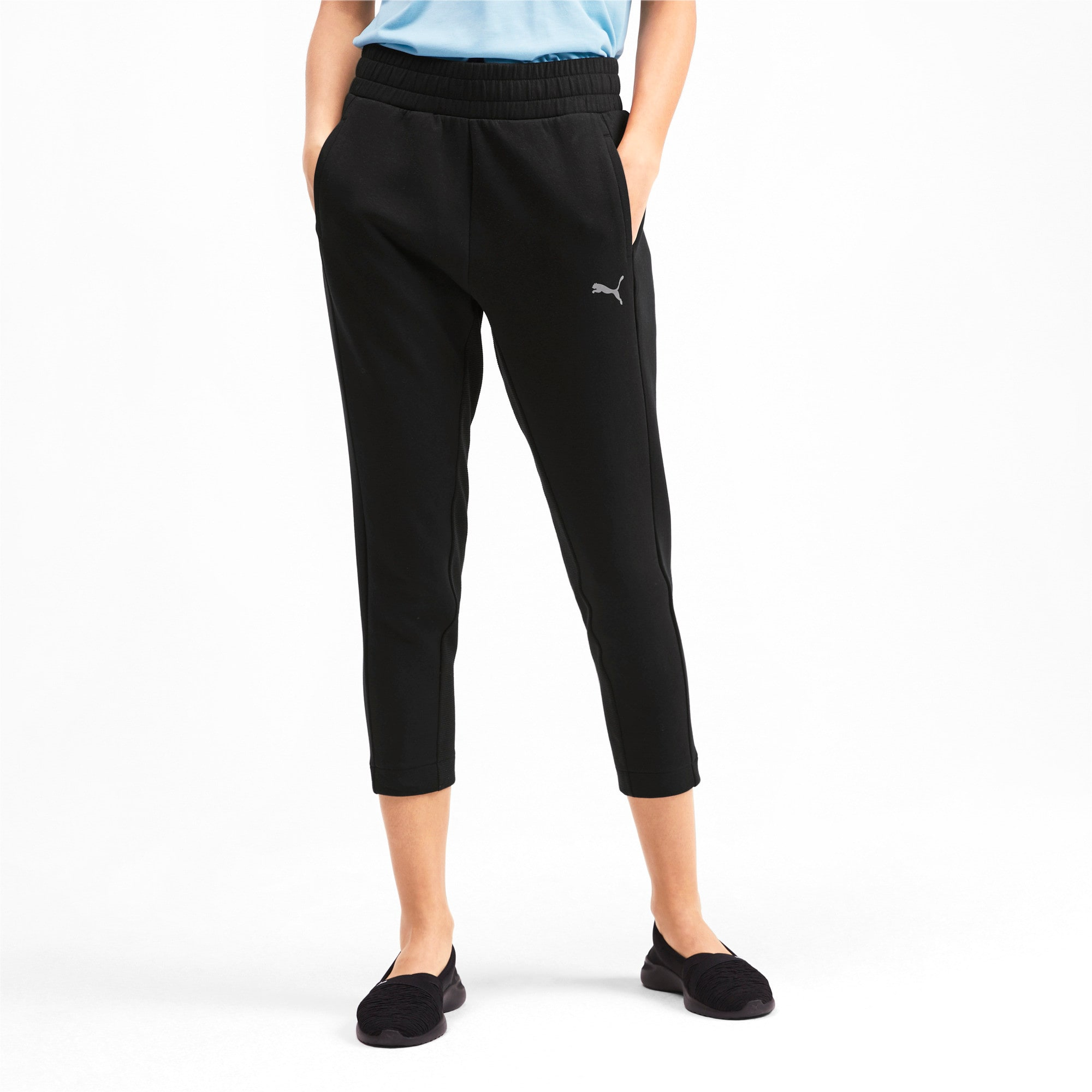 Thumbnail 1 of Evostripe Damen Sweatpants, Puma Black, medium