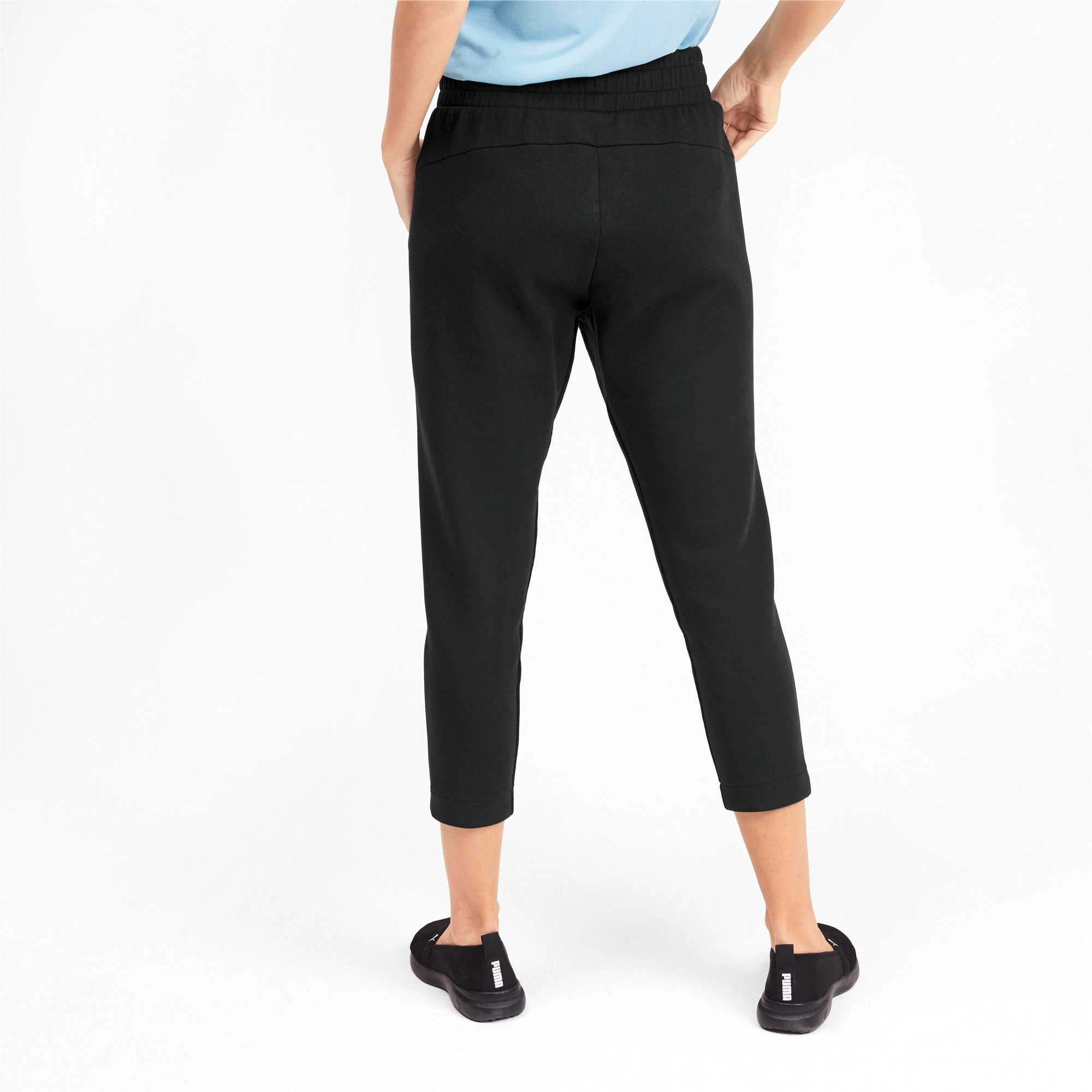 Thumbnail 2 of Evostripe Damen Sweatpants, Puma Black, medium