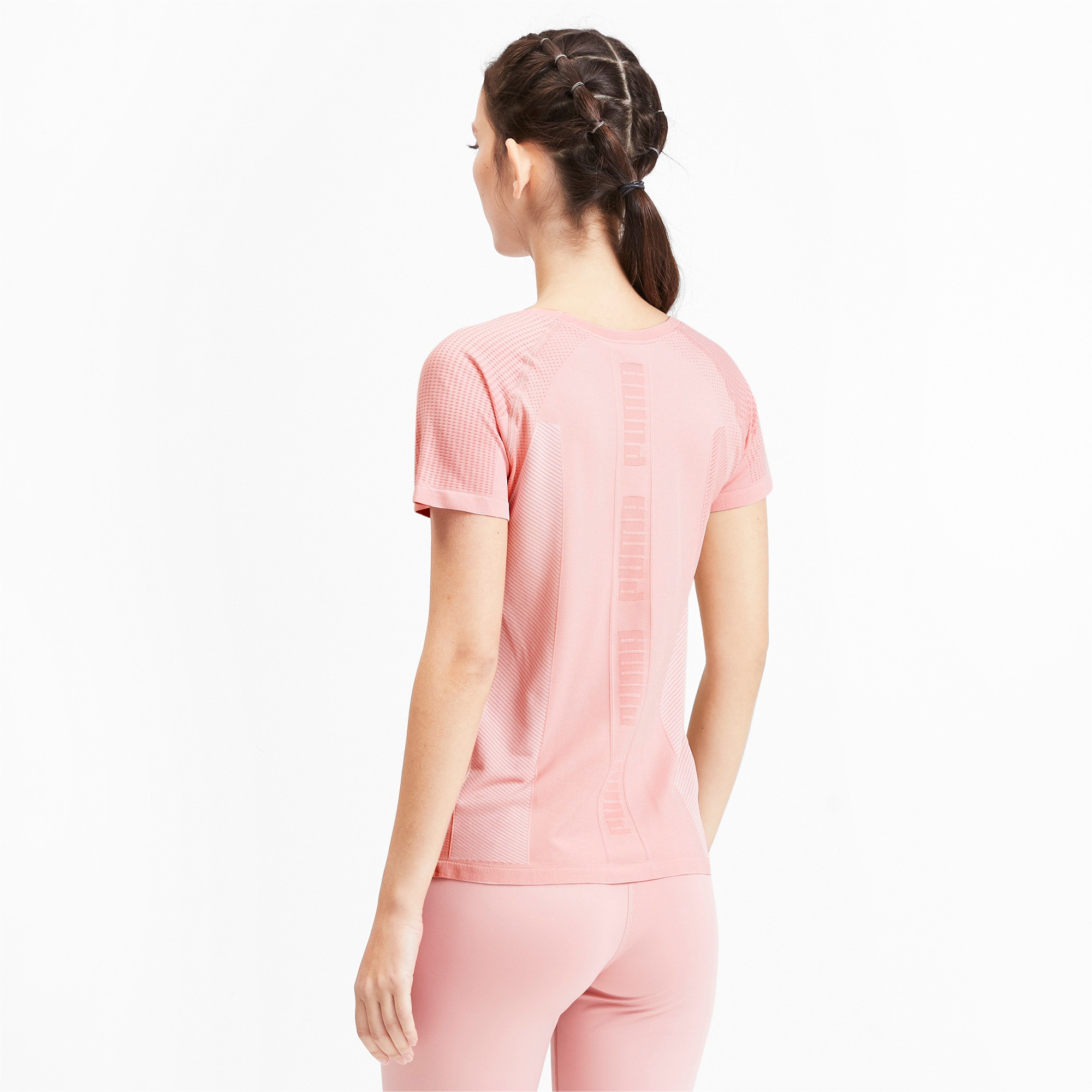 Thumbnail 2 of evoKNIT Seamless Damen T-Shirt, Bridal Rose, medium