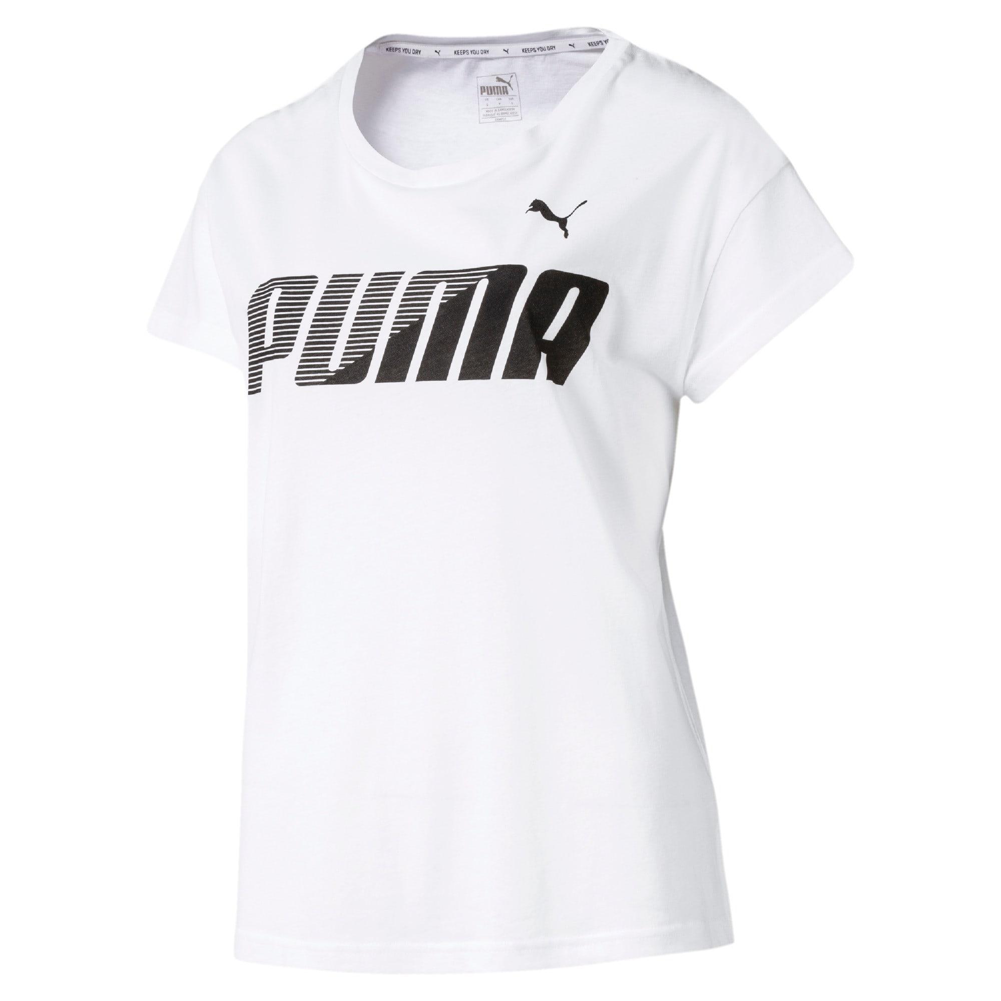 Miniatura 4 de Camiseta estampadaModernSports de mujer, Puma White, mediano