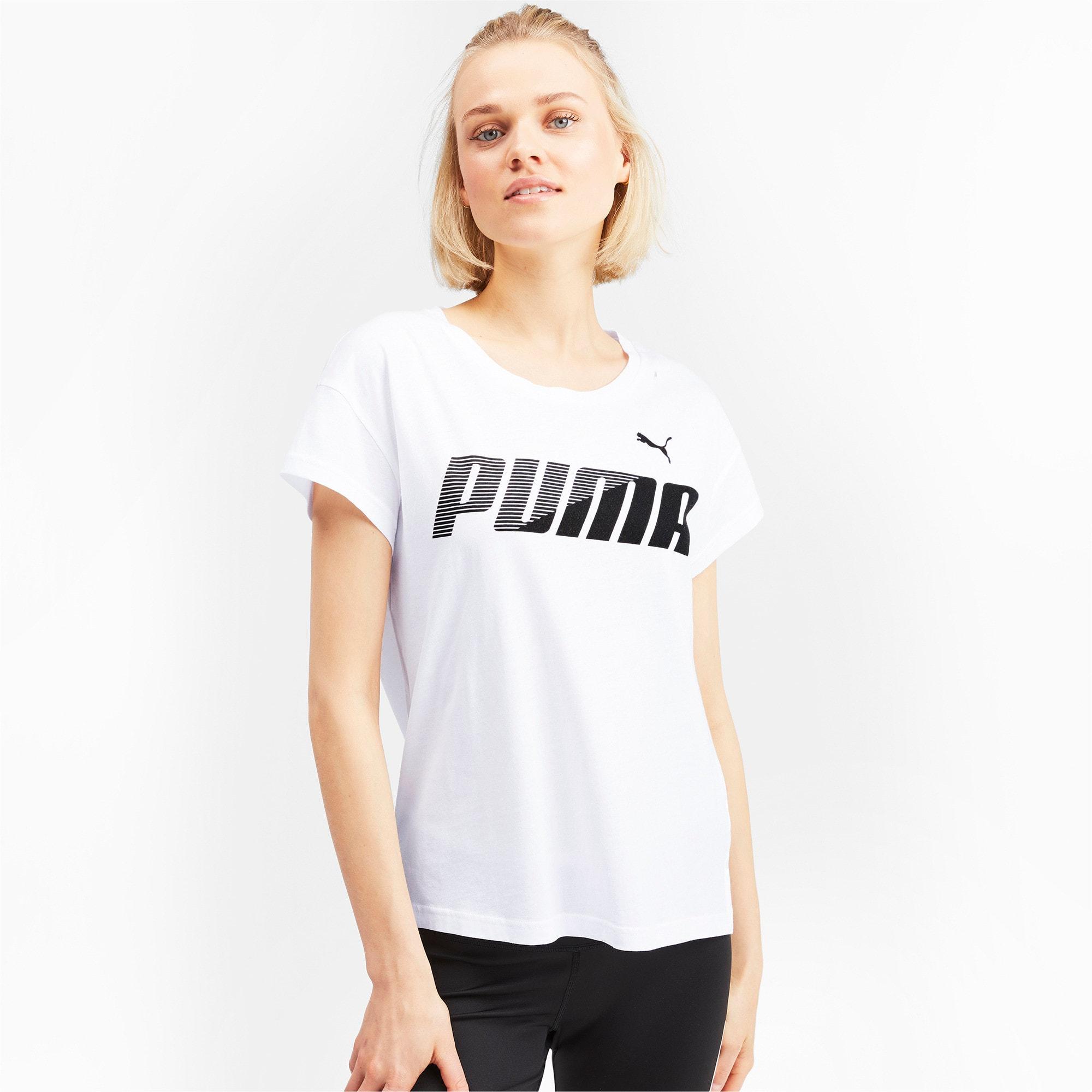 Miniatura 1 de Camiseta estampadaModernSports de mujer, Puma White, mediano