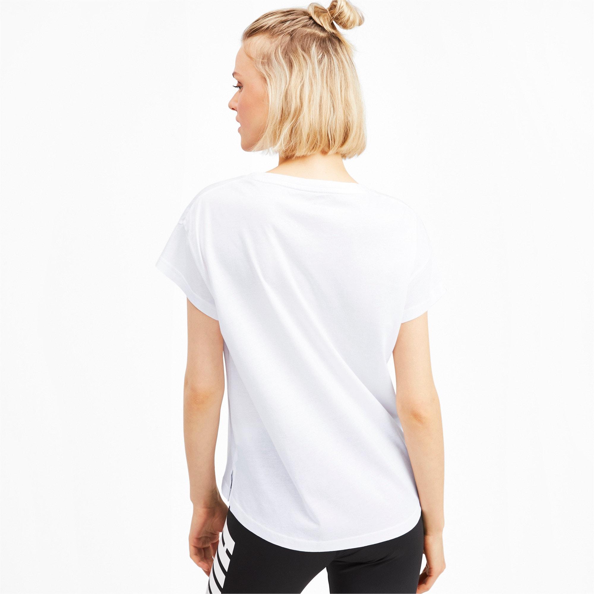 Miniatura 2 de Camiseta estampadaModernSports de mujer, Puma White, mediano