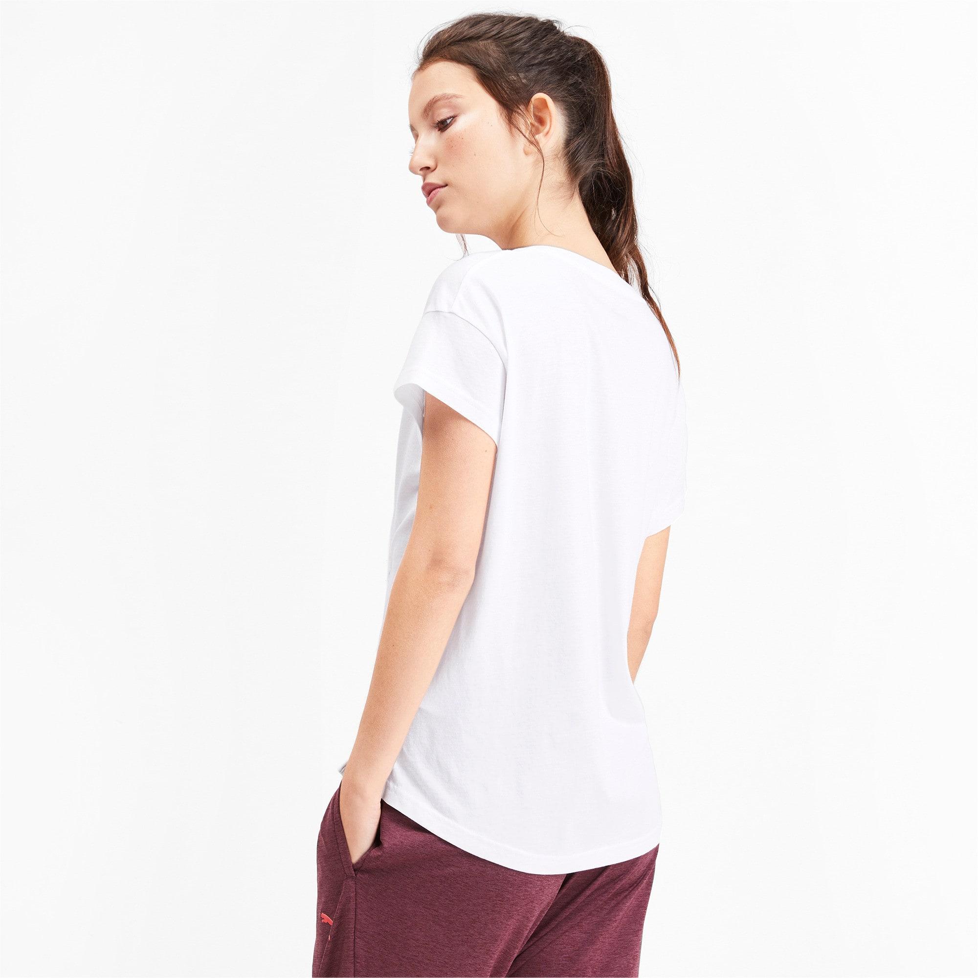 Miniatura 3 de Camiseta estampadaModernSports de mujer, Puma White, mediano