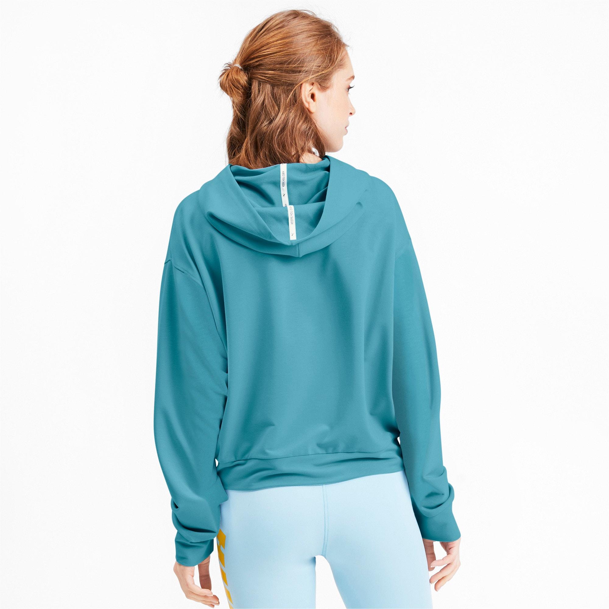 Thumbnail 3 of Modern Sports Women's Hoodie, Milky Blue, medium
