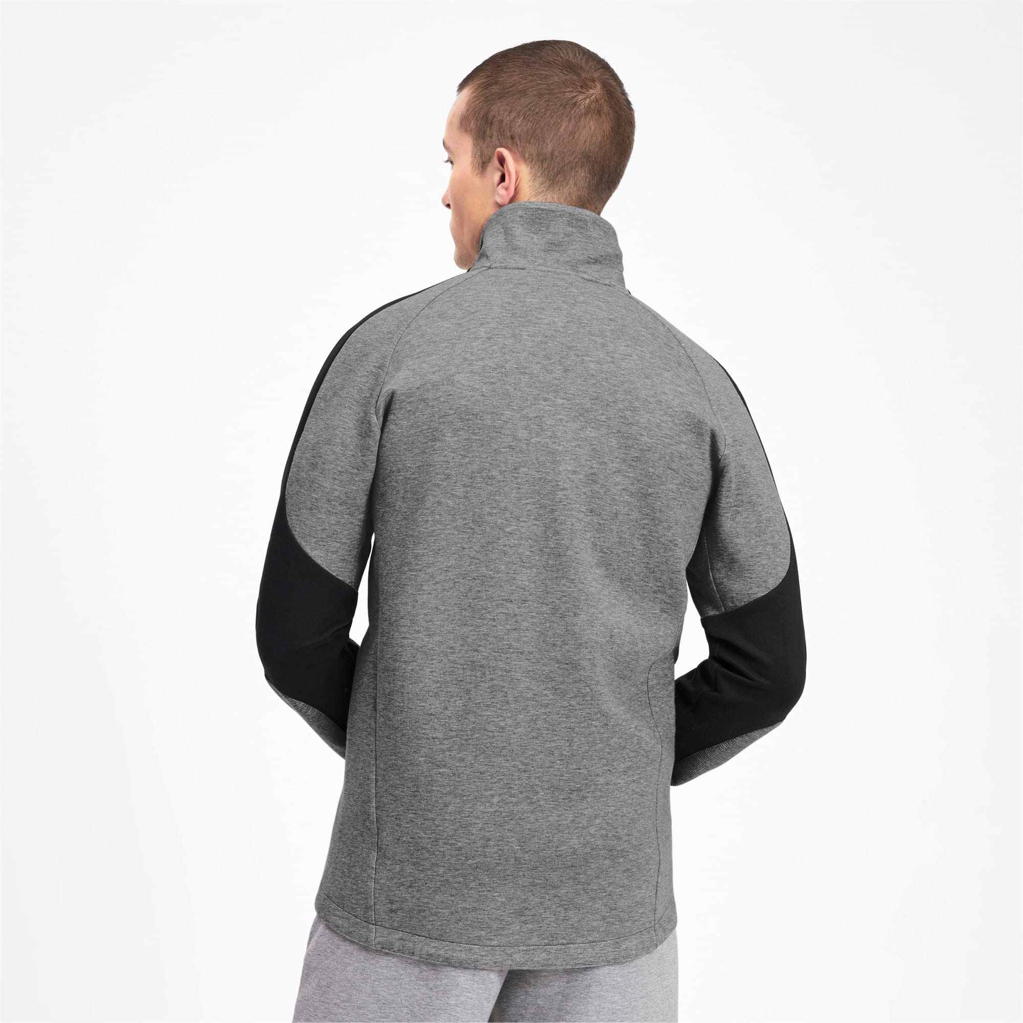 Miniatura 2 de Chaqueta Evostripe para hombre, Medium Gray Heather, mediano