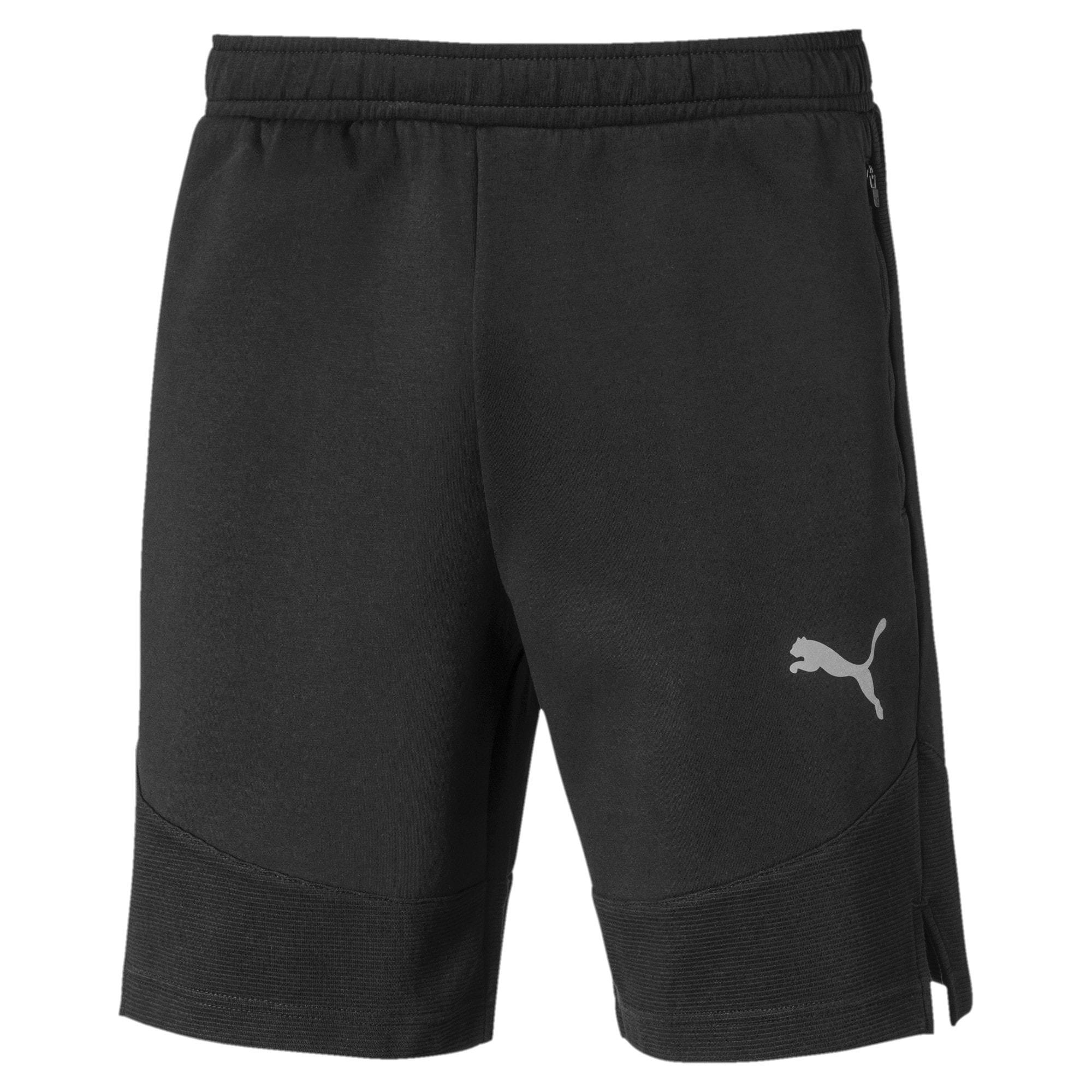 Thumbnail 4 of Evostripe Men's Shorts, Puma Black, medium