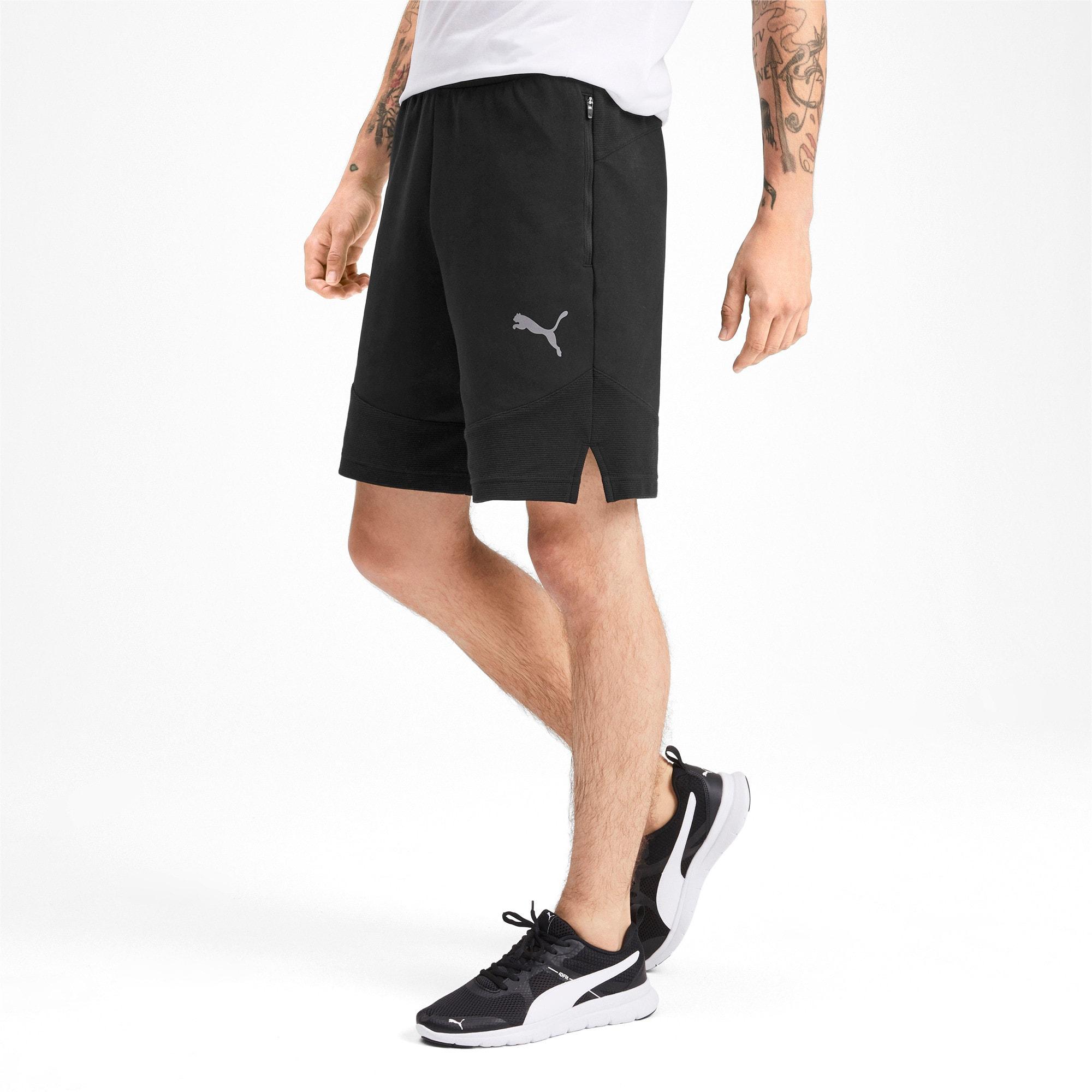 Thumbnail 1 of Evostripe Men's Shorts, Puma Black, medium