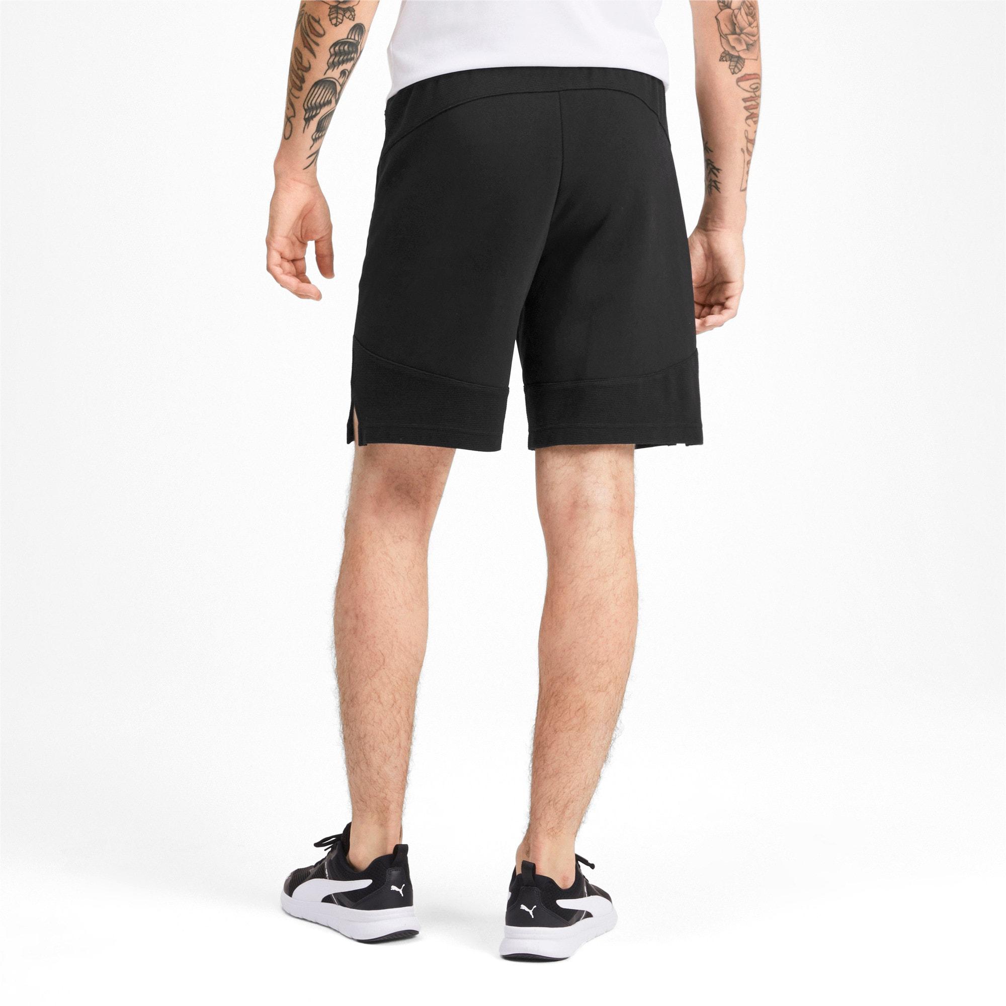 Thumbnail 2 of Evostripe Men's Shorts, Puma Black, medium