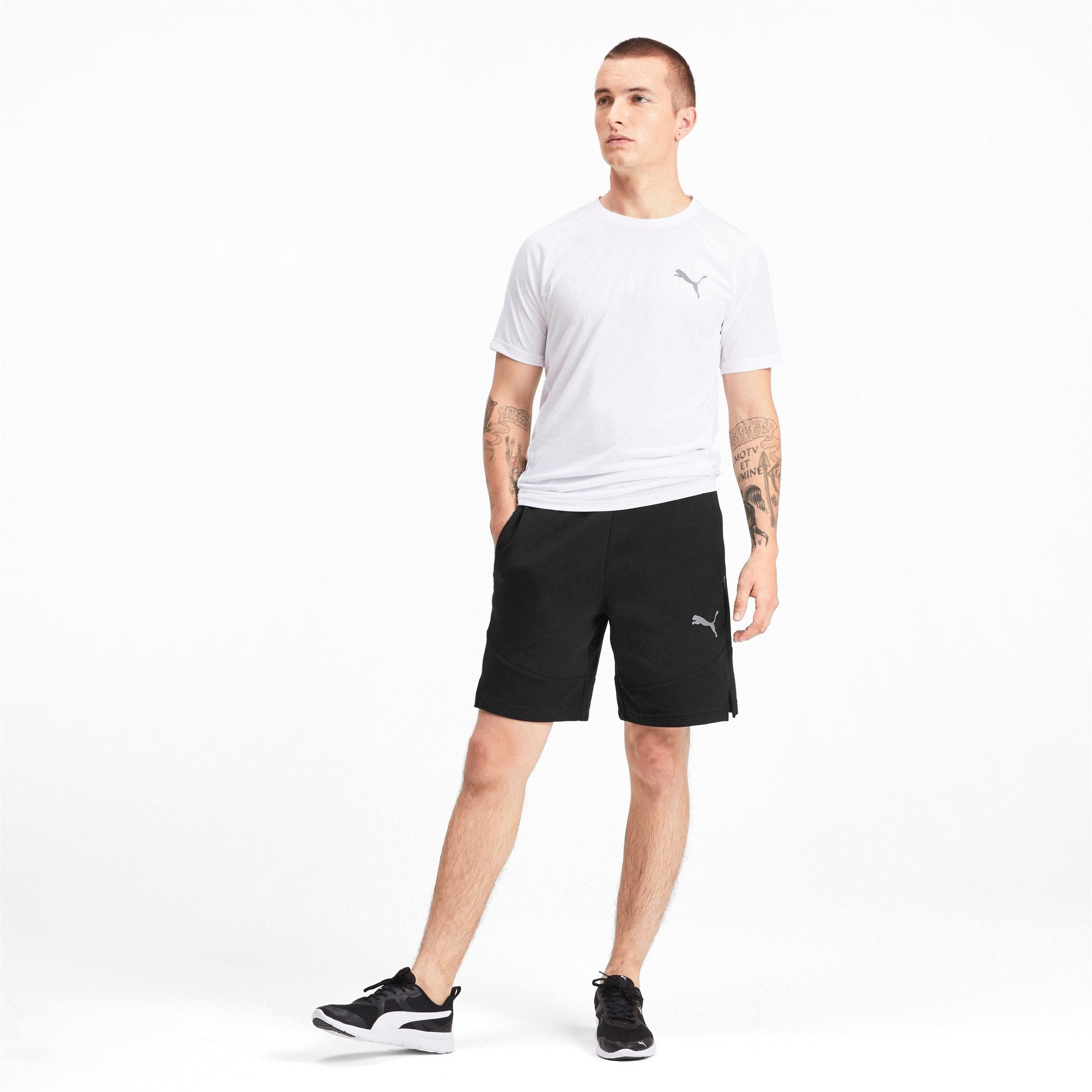 Thumbnail 3 of Evostripe Men's Shorts, Puma Black, medium