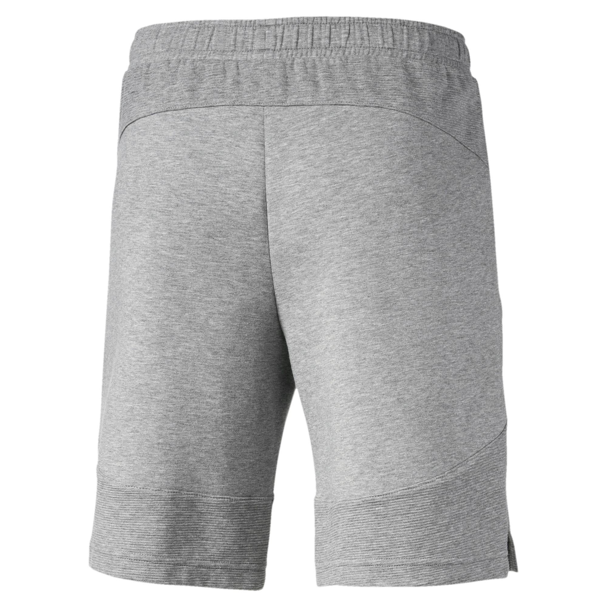 Thumbnail 5 of Evostripe Men's Shorts, Medium Gray Heather, medium