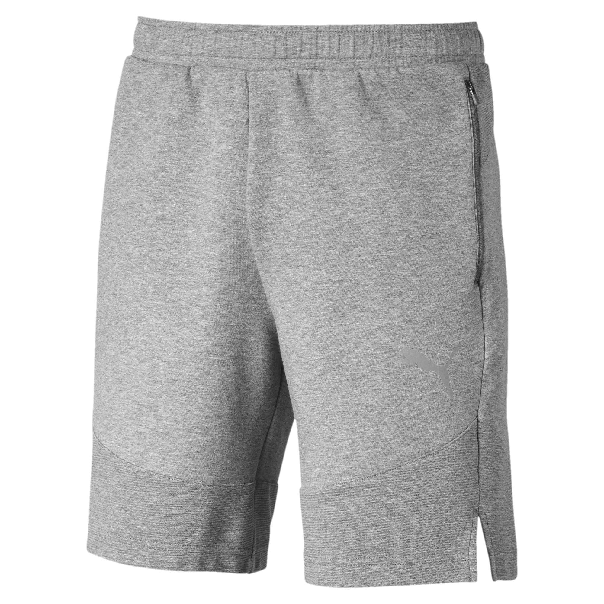 Thumbnail 4 of Evostripe Men's Shorts, Medium Gray Heather, medium