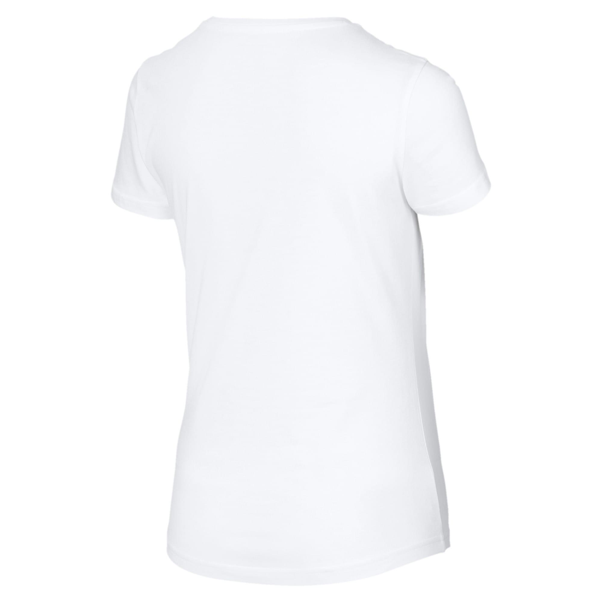 Miniatura 5 de Camiseta estampada Photoprint para mujer, Puma White, mediano