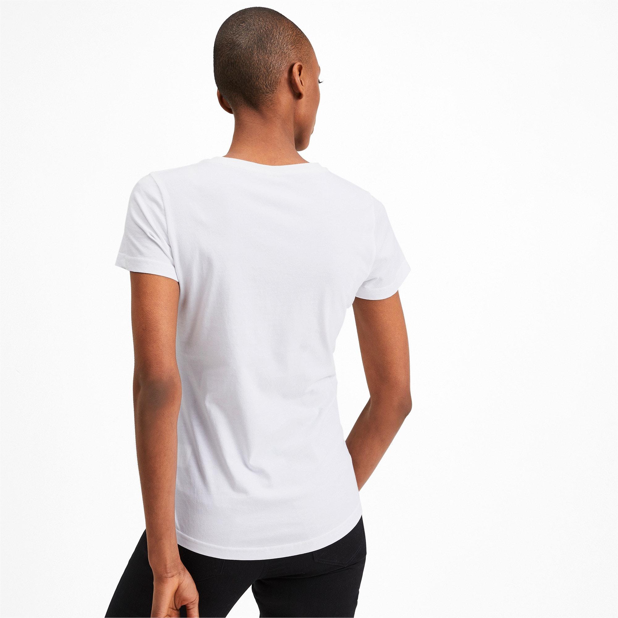 Miniatura 2 de Camiseta estampada Photoprint para mujer, Puma White, mediano
