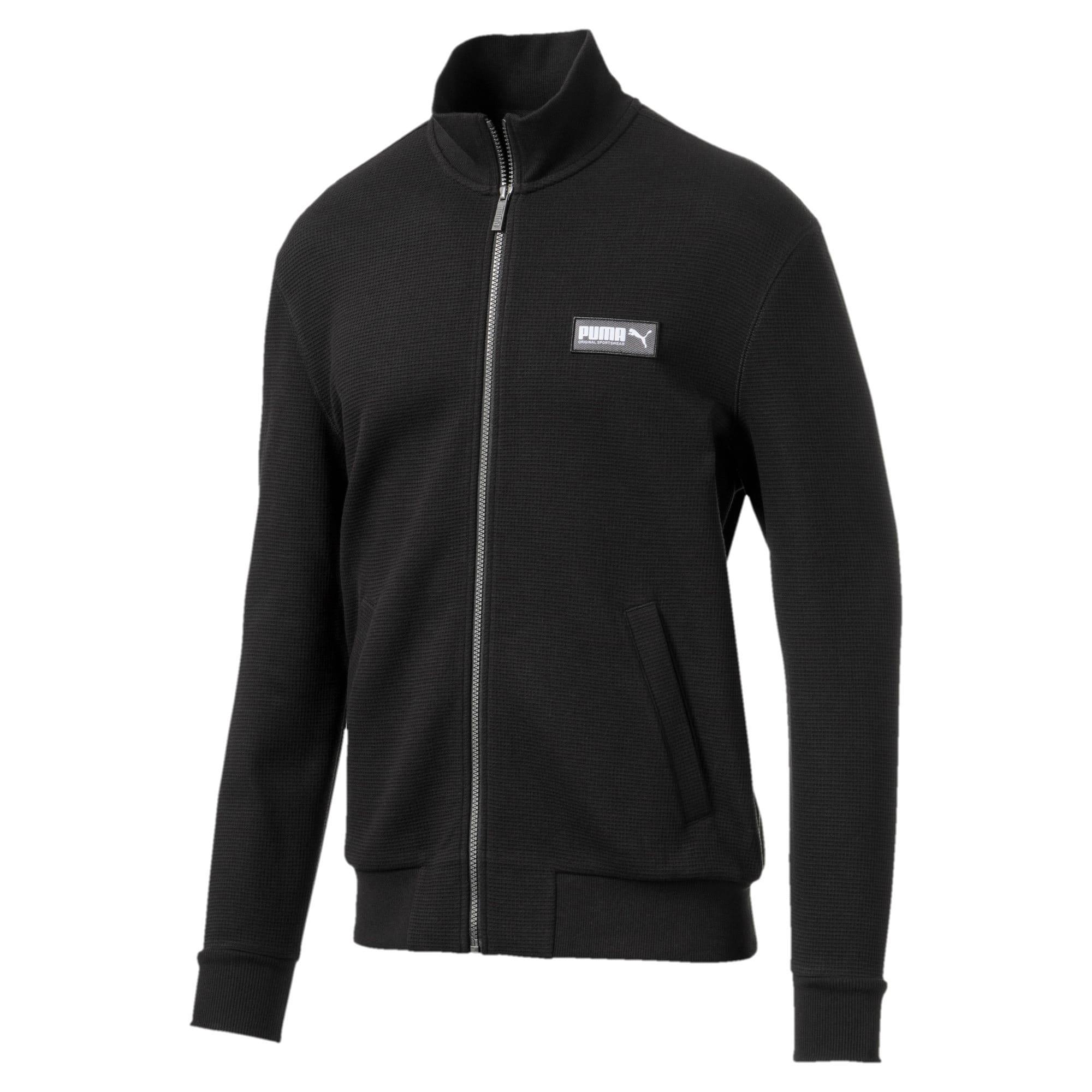Thumbnail 4 of Fusion Men's Jacket, Puma Black, medium