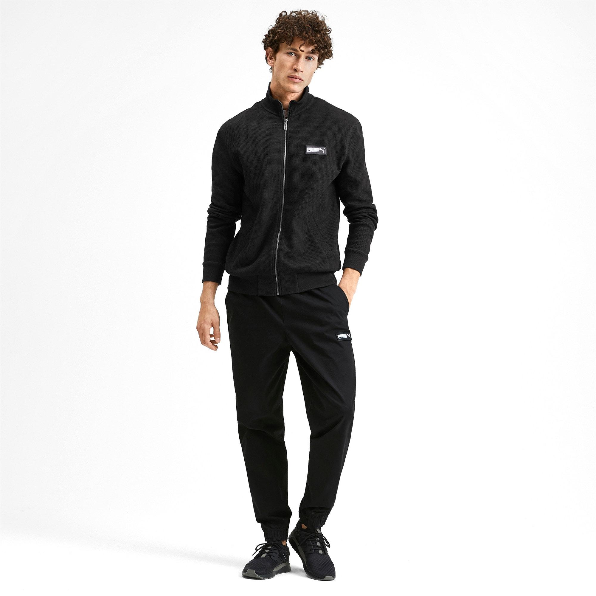 Thumbnail 3 of Fusion Men's Jacket, Puma Black, medium