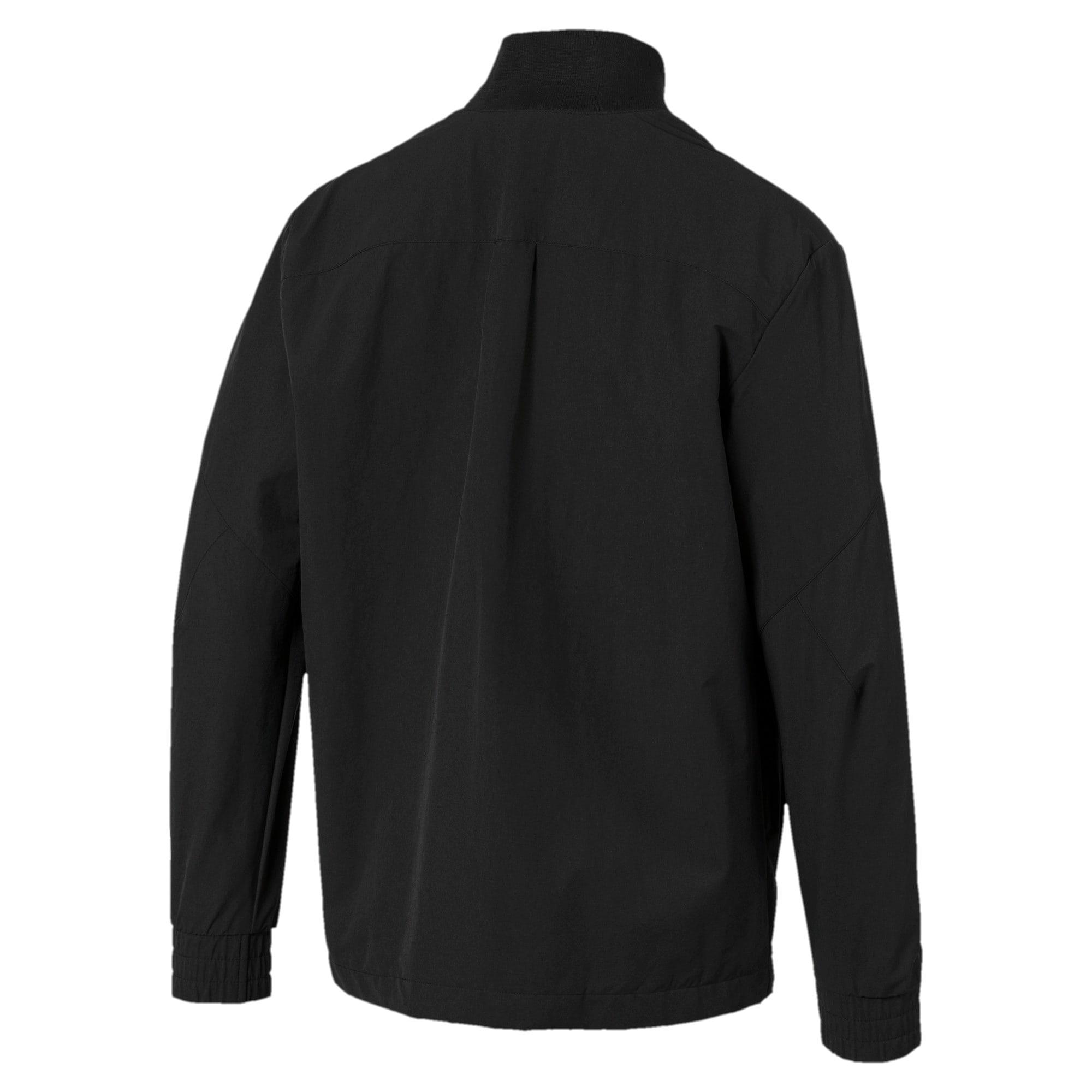 Miniatura 5 de Chaqueta tejida NU-TILITY para hombre, Puma Black, mediano