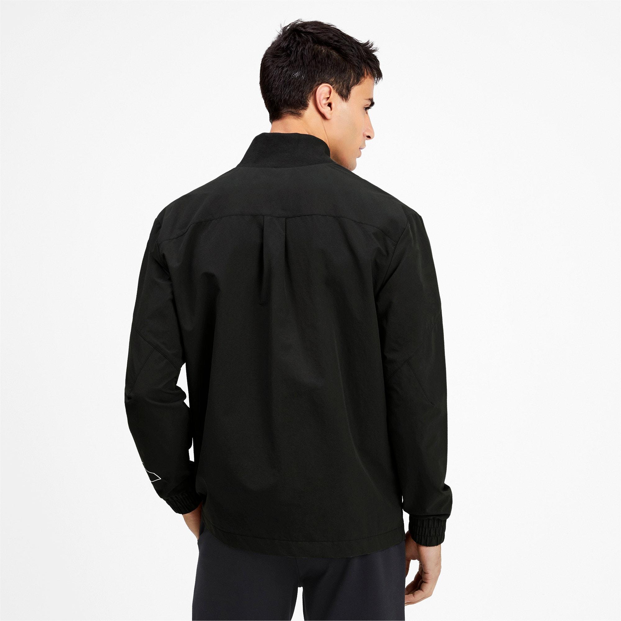 Miniatura 2 de Chaqueta tejida NU-TILITY para hombre, Puma Black, mediano