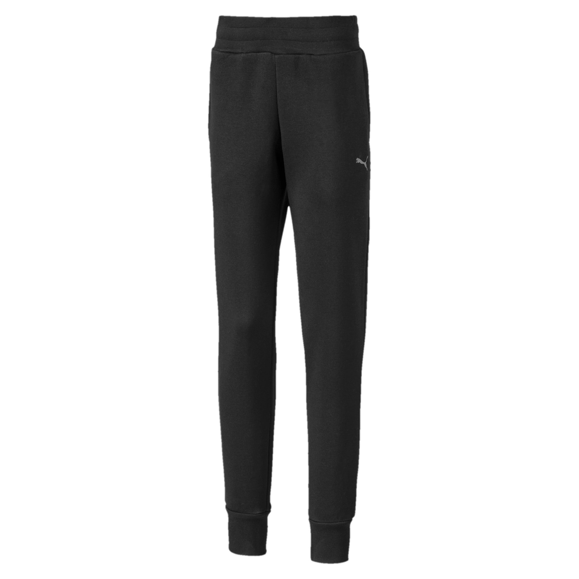 Thumbnail 1 of Girls' Sweatpants, Puma Black, medium-IND
