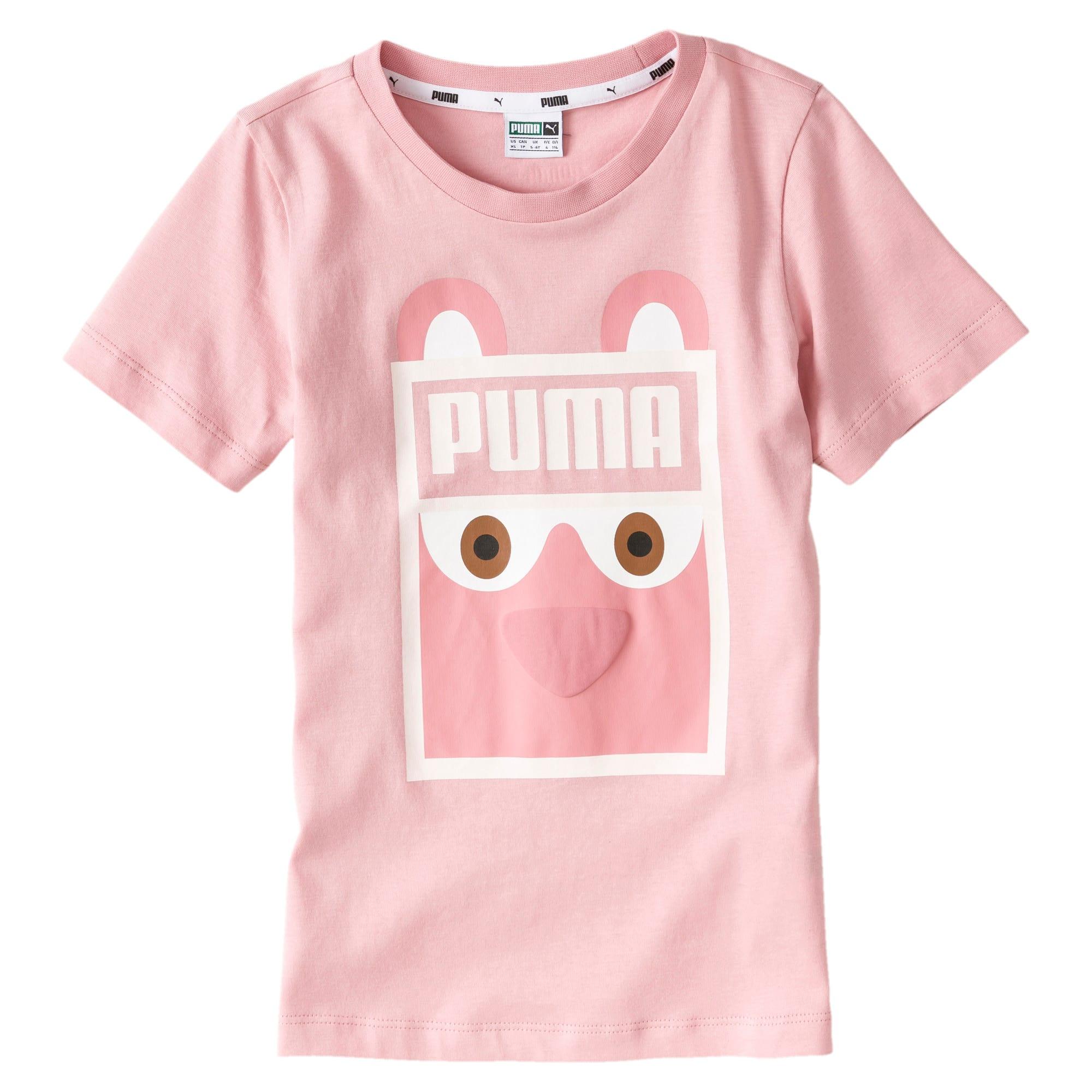 Vignette 1 de T-shirt Monster, nouveau-né + tout-petit, Rose mariée, moyen