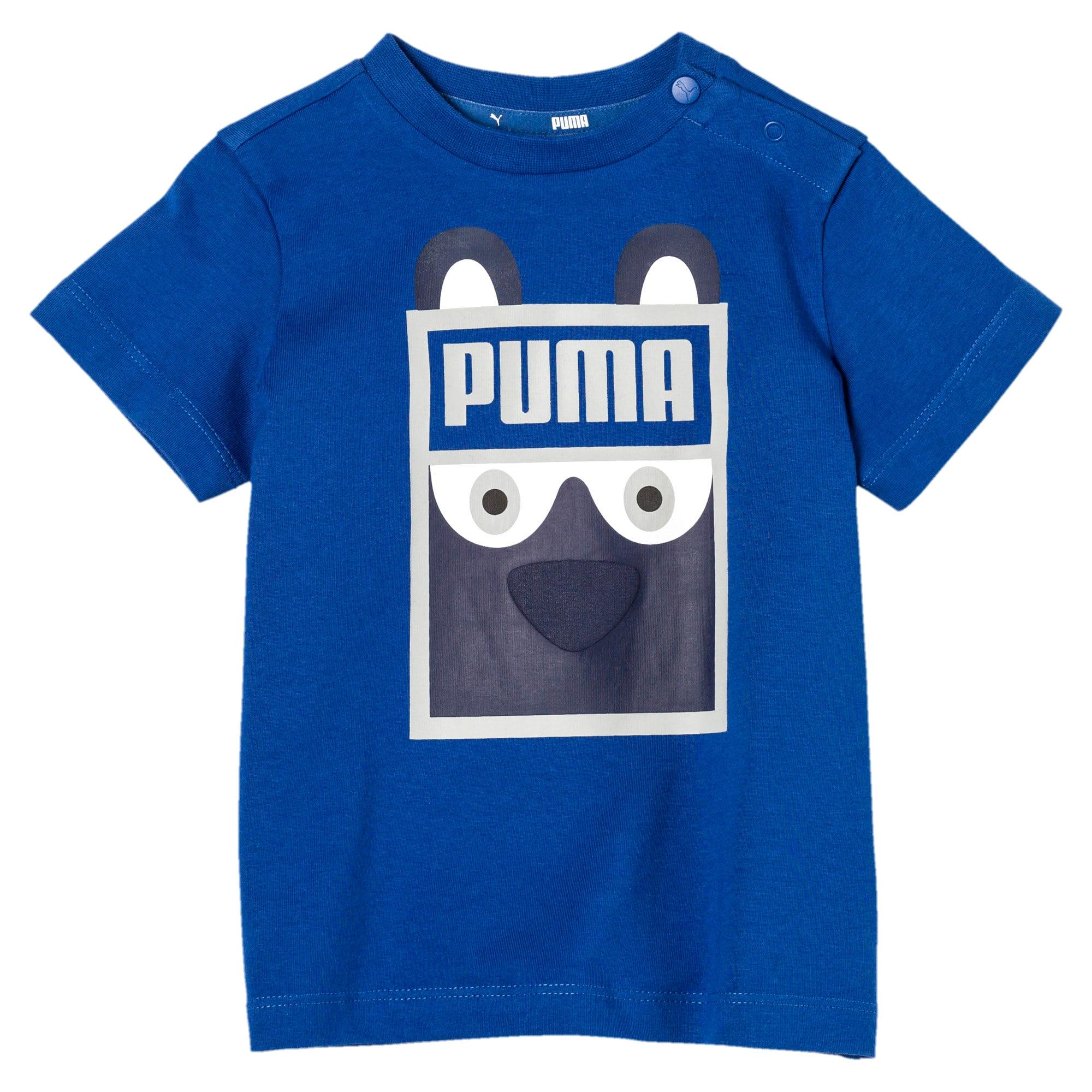 Vignette 3 de T-shirt Monster, nouveau-né + tout-petit, Galaxy Blue, moyen
