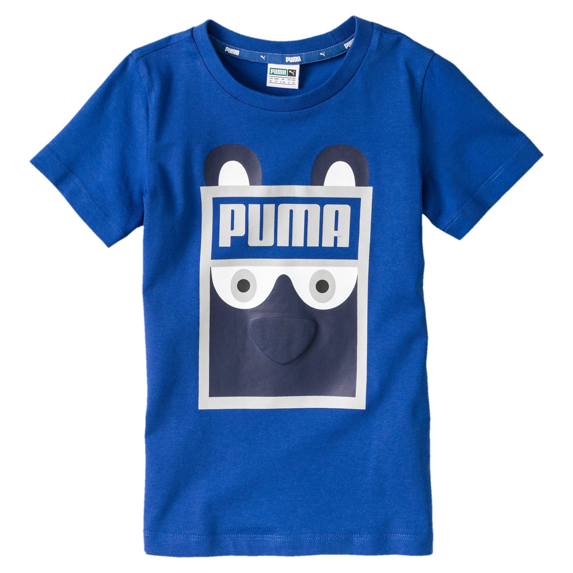 Vignette 1 de T-shirt Monster, nouveau-né + tout-petit, Galaxy Blue, moyen