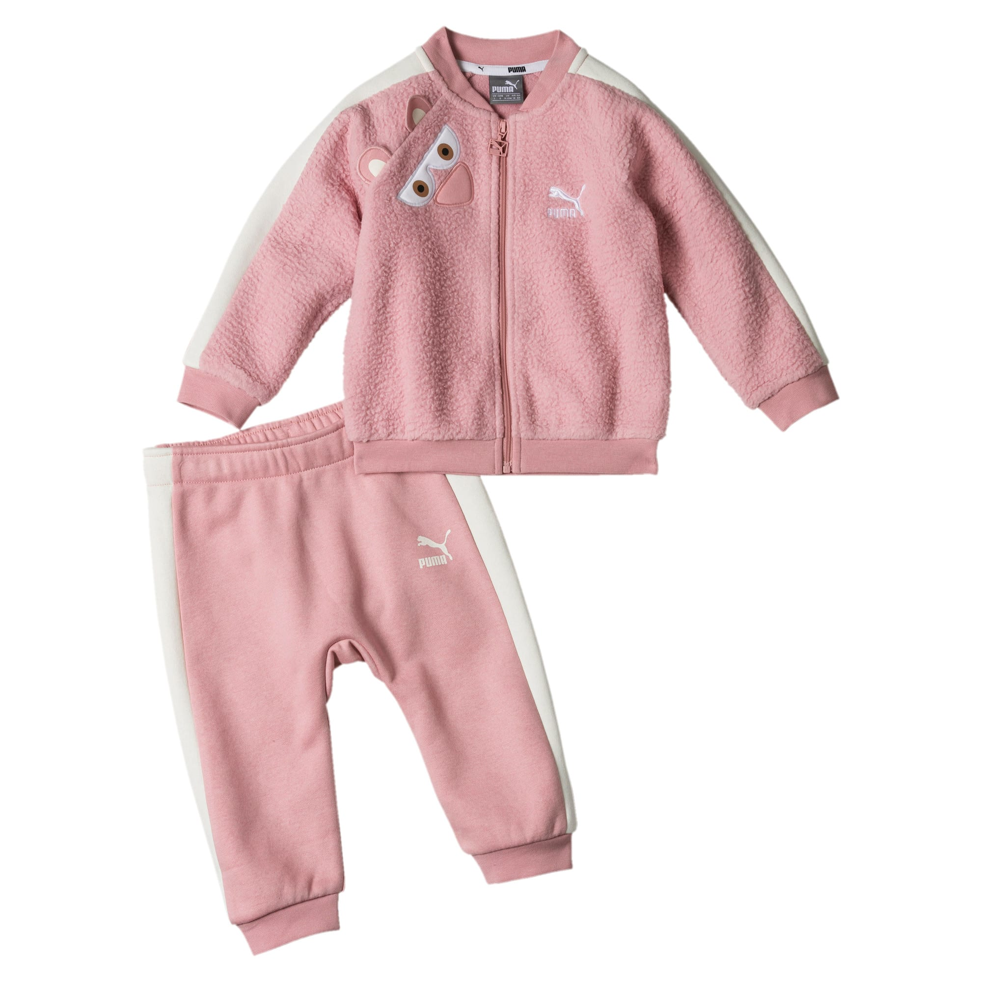 Thumbnail 3 of Monster Infant + Toddler Two-Piece Set, Bridal Rose, medium