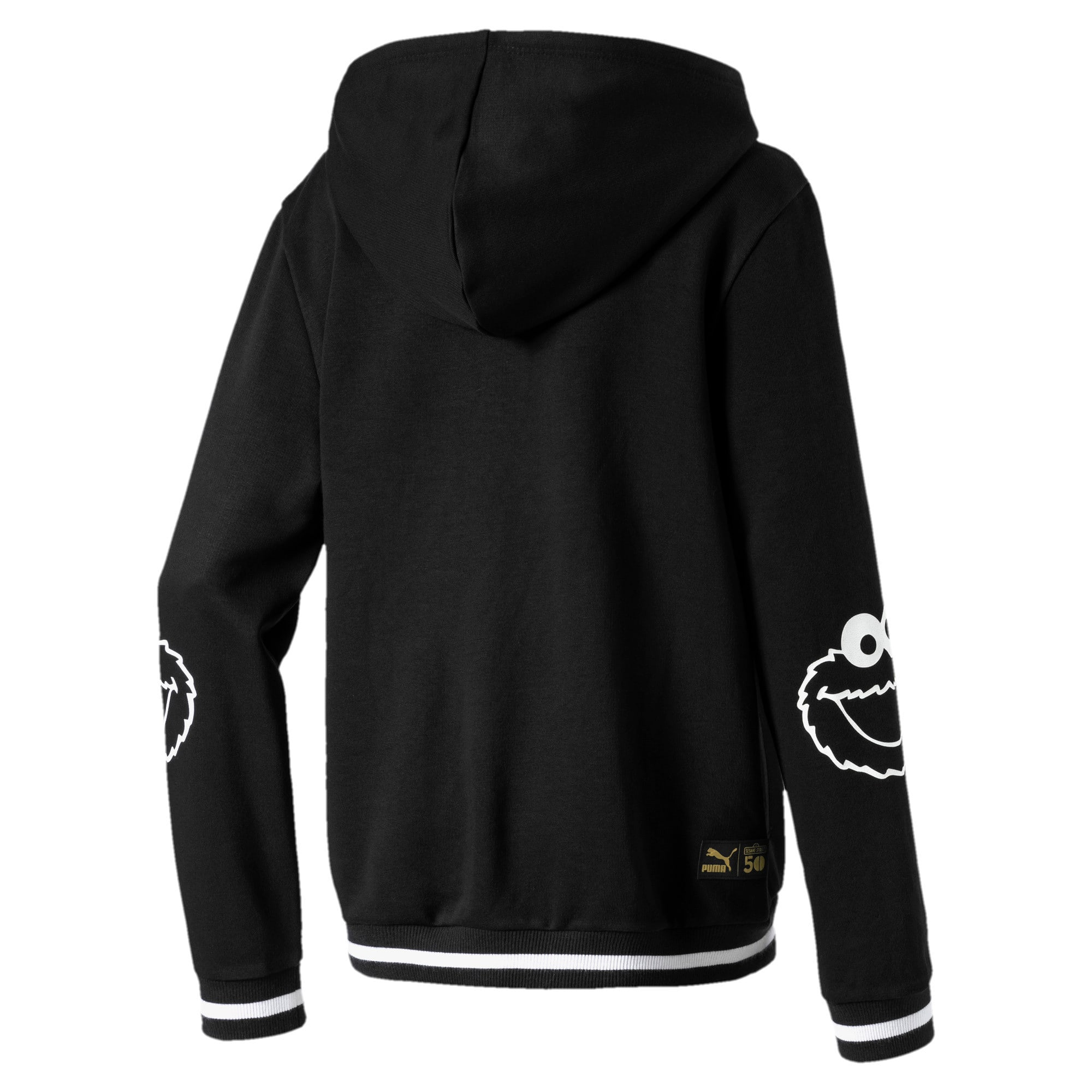 Thumbnail 2 of Sesame Street Boys' Hoodie, Puma Black, medium