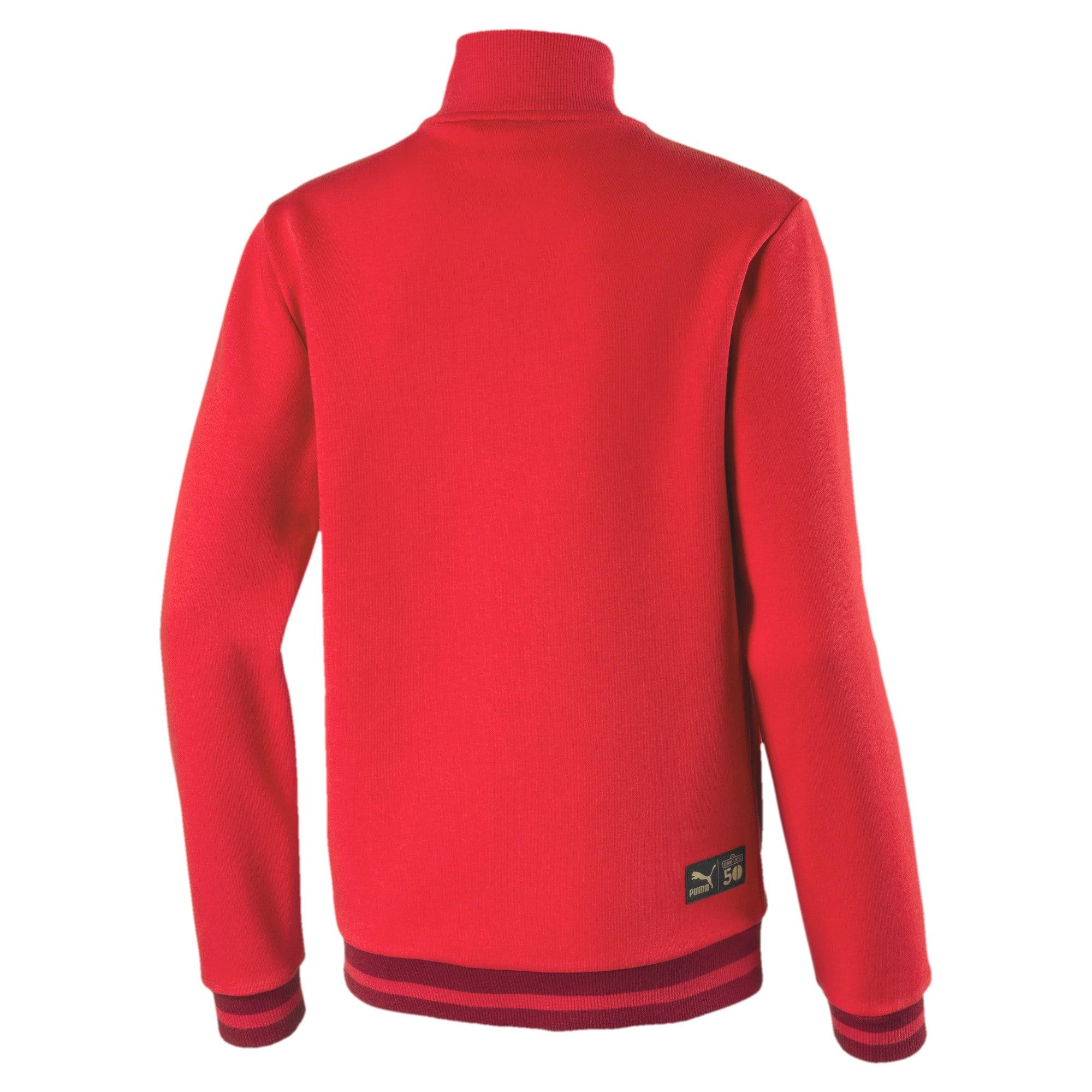 Thumbnail 2 of PUMA x SESAME STREET Kids' Sweat Jacket, High Risk Red, medium