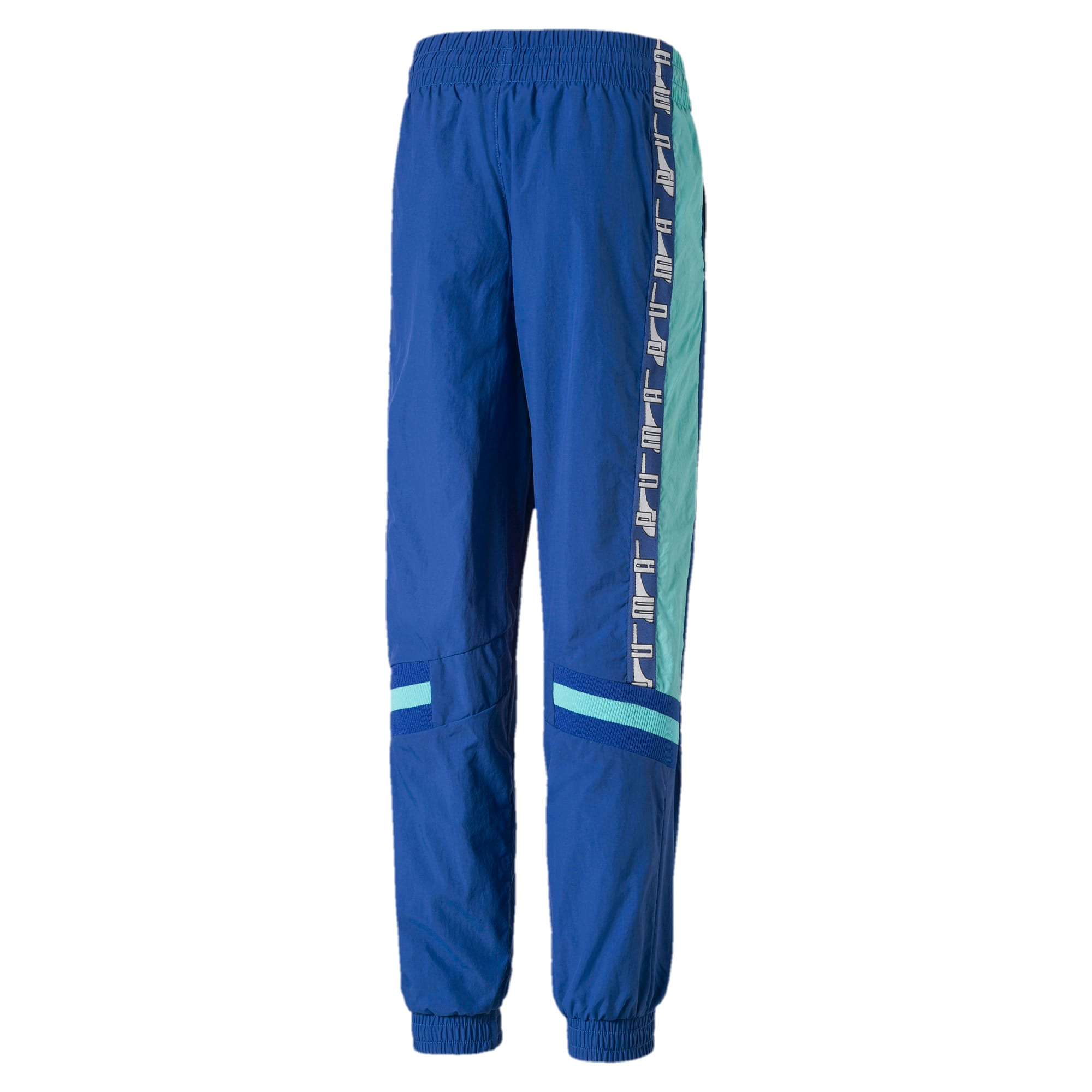 Thumbnail 2 of PUMA XTG Woven Boys' Pants, Galaxy Blue, medium