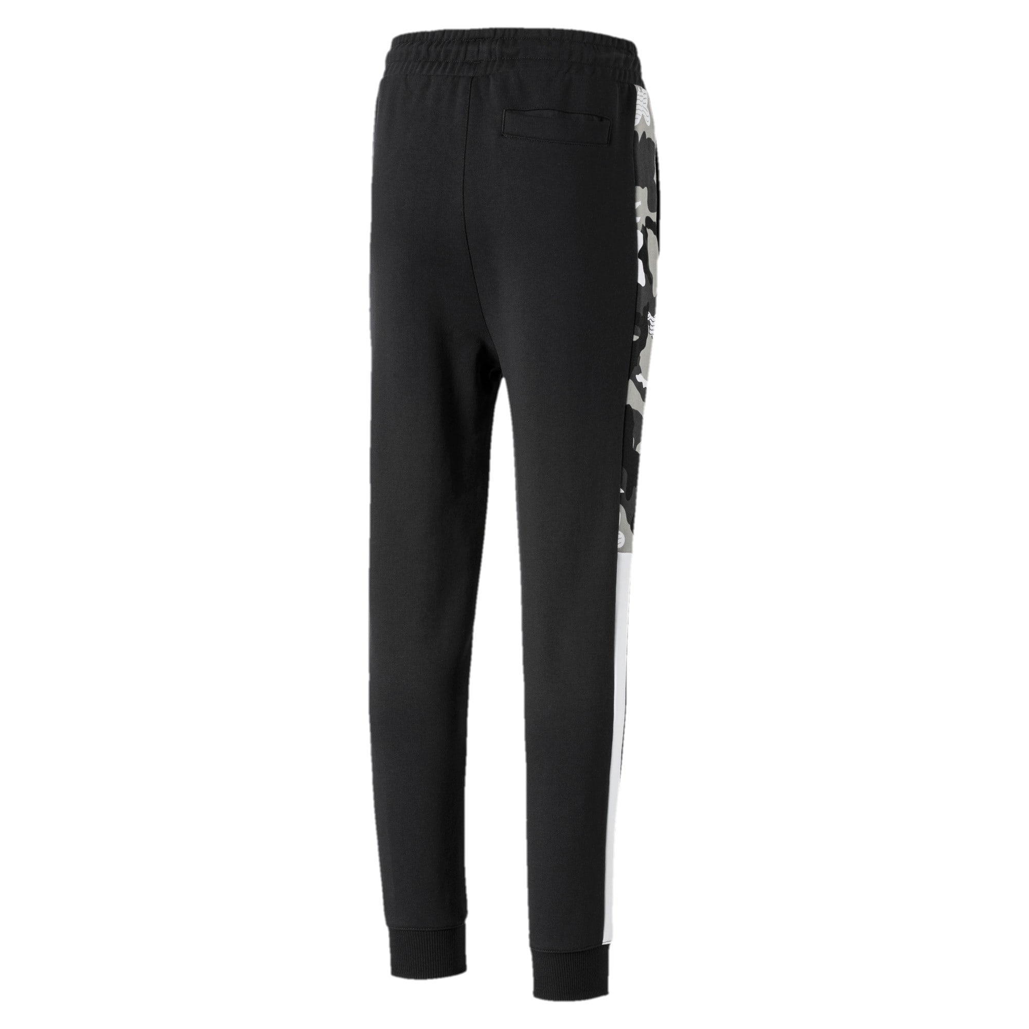 Thumbnail 2 of Classics T7 Boys' Track Pants, Puma Black, medium