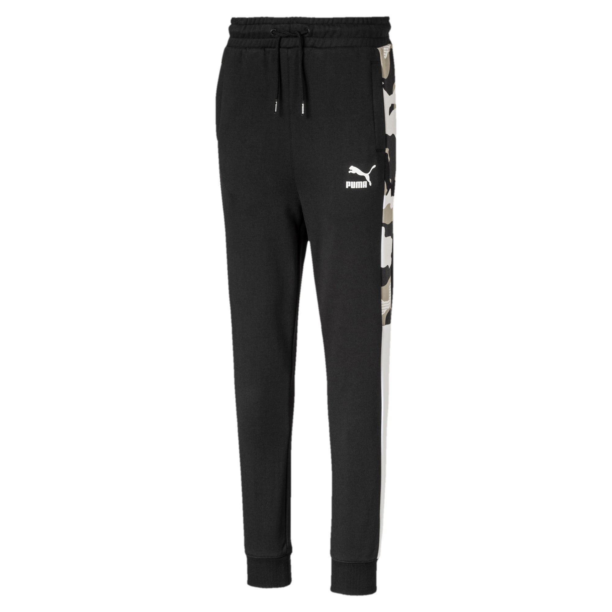Thumbnail 1 of Classics T7 Boys' Track Pants, Puma Black, medium