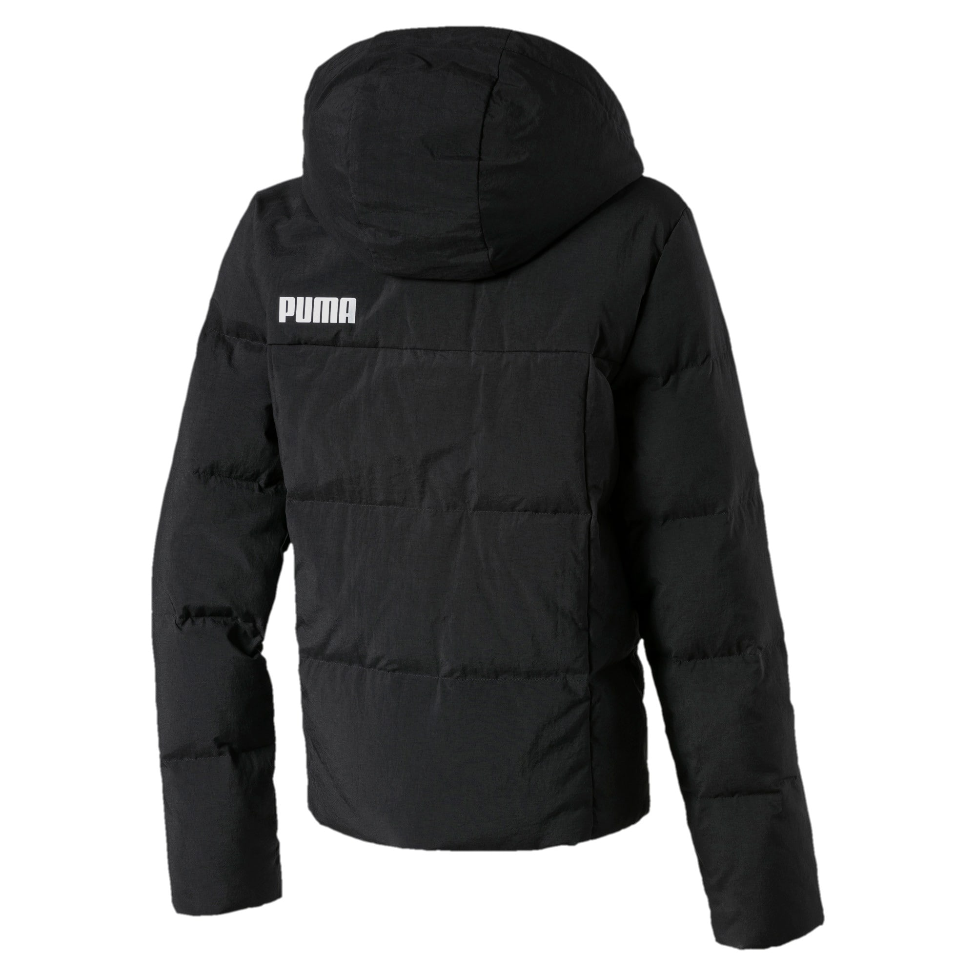 Thumbnail 2 of Style Jungen Daunenjacke, Puma Black, medium