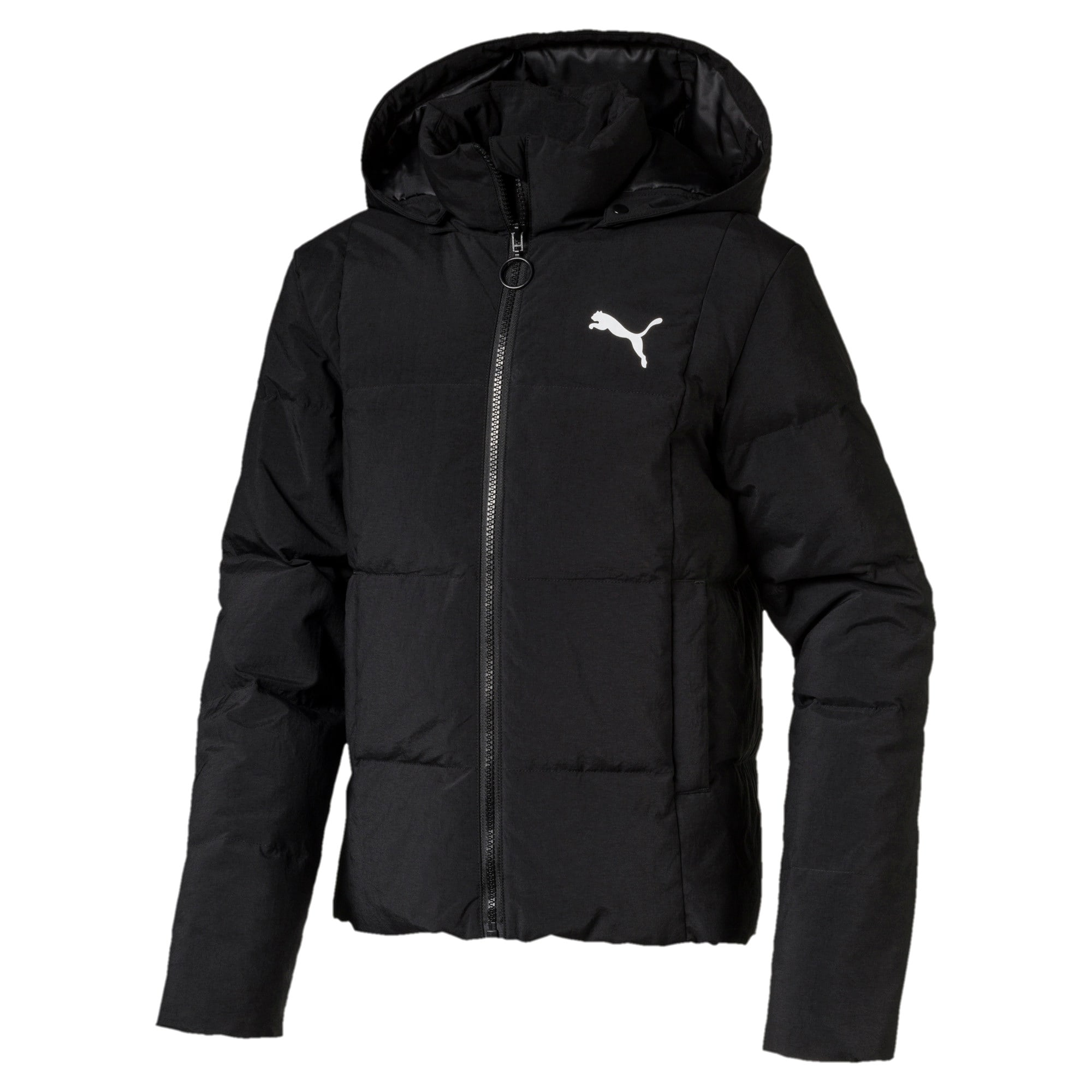 Thumbnail 1 of Style Jungen Daunenjacke, Puma Black, medium