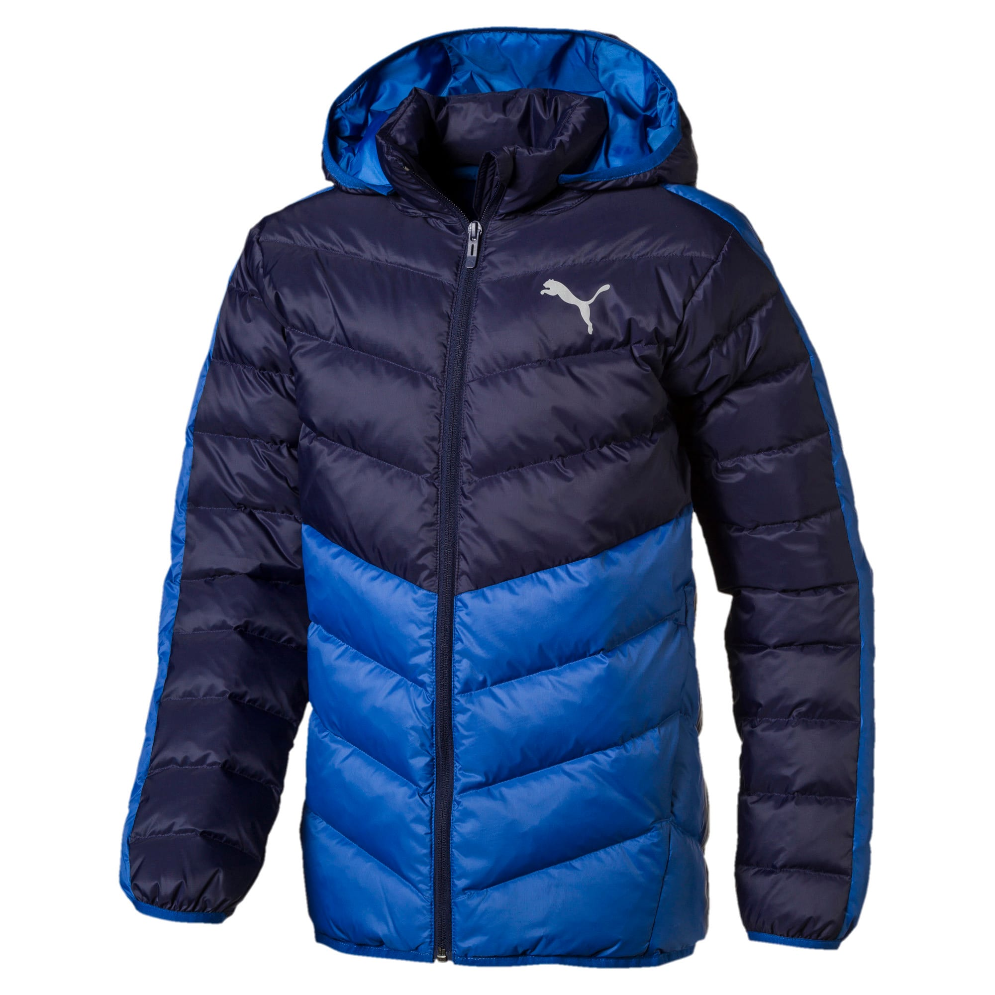 Thumbnail 1 of Active Boys' Jacket, Galaxy Blue-Peacoat, medium