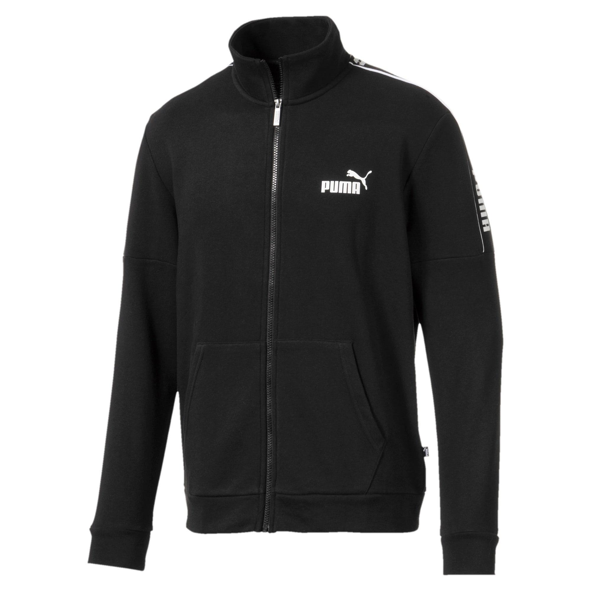 Thumbnail 1 of Amplified Men's Track Jacket, Puma Black, medium