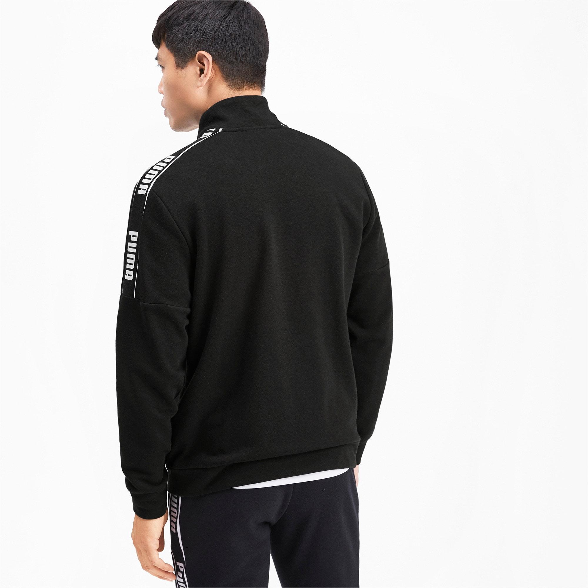 Thumbnail 3 of Amplified Men's Track Jacket, Puma Black, medium