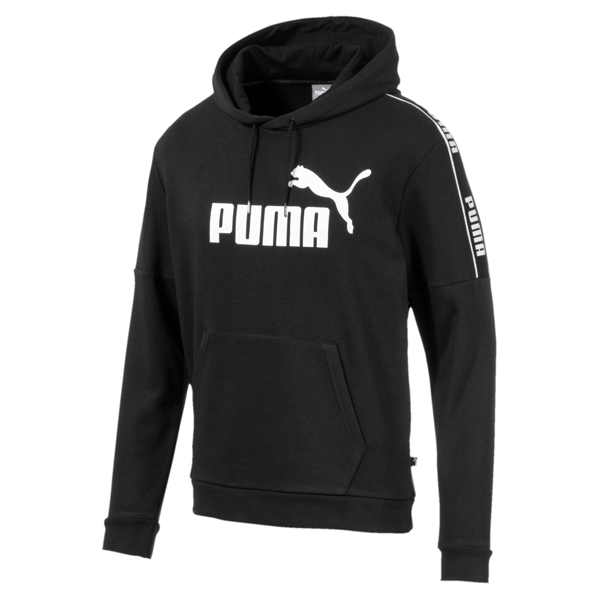 Miniatura 1 de Chaqueta con capucha Amplified para hombre, Puma Black, mediano