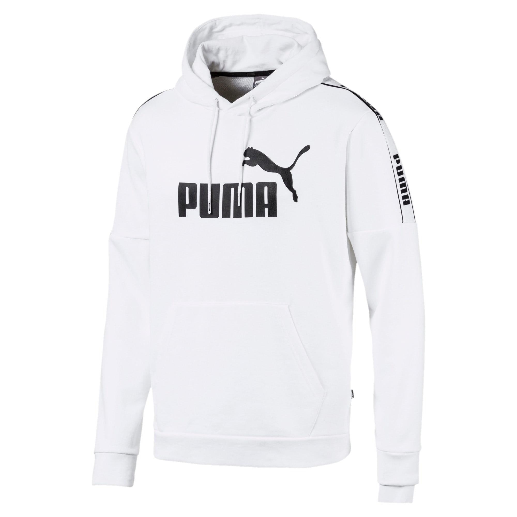 Thumbnail 1 of Amplified Men's Hoodie, Puma White, medium