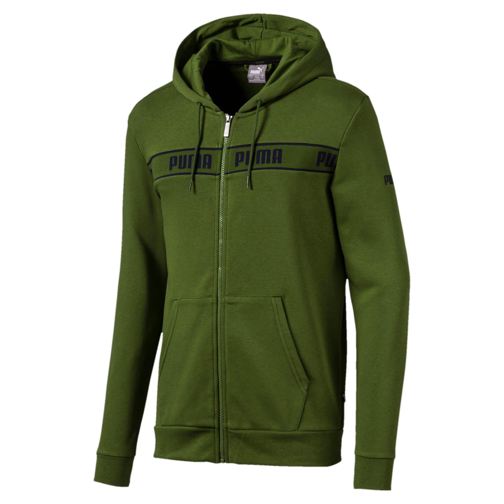 Miniatura 1 de Chaqueta con capucha Amplified para hombre, Garden Green, mediano