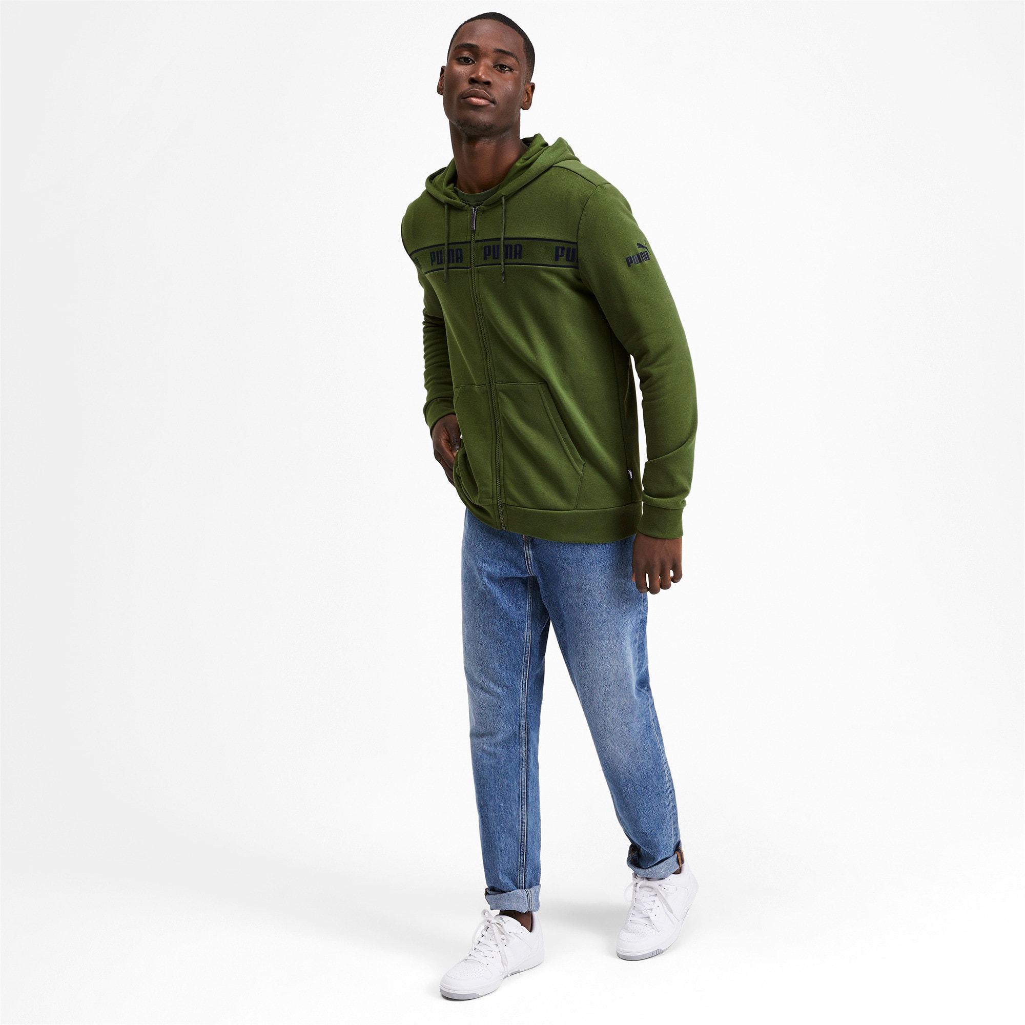 Miniatura 4 de Chaqueta con capucha Amplified para hombre, Garden Green, mediano