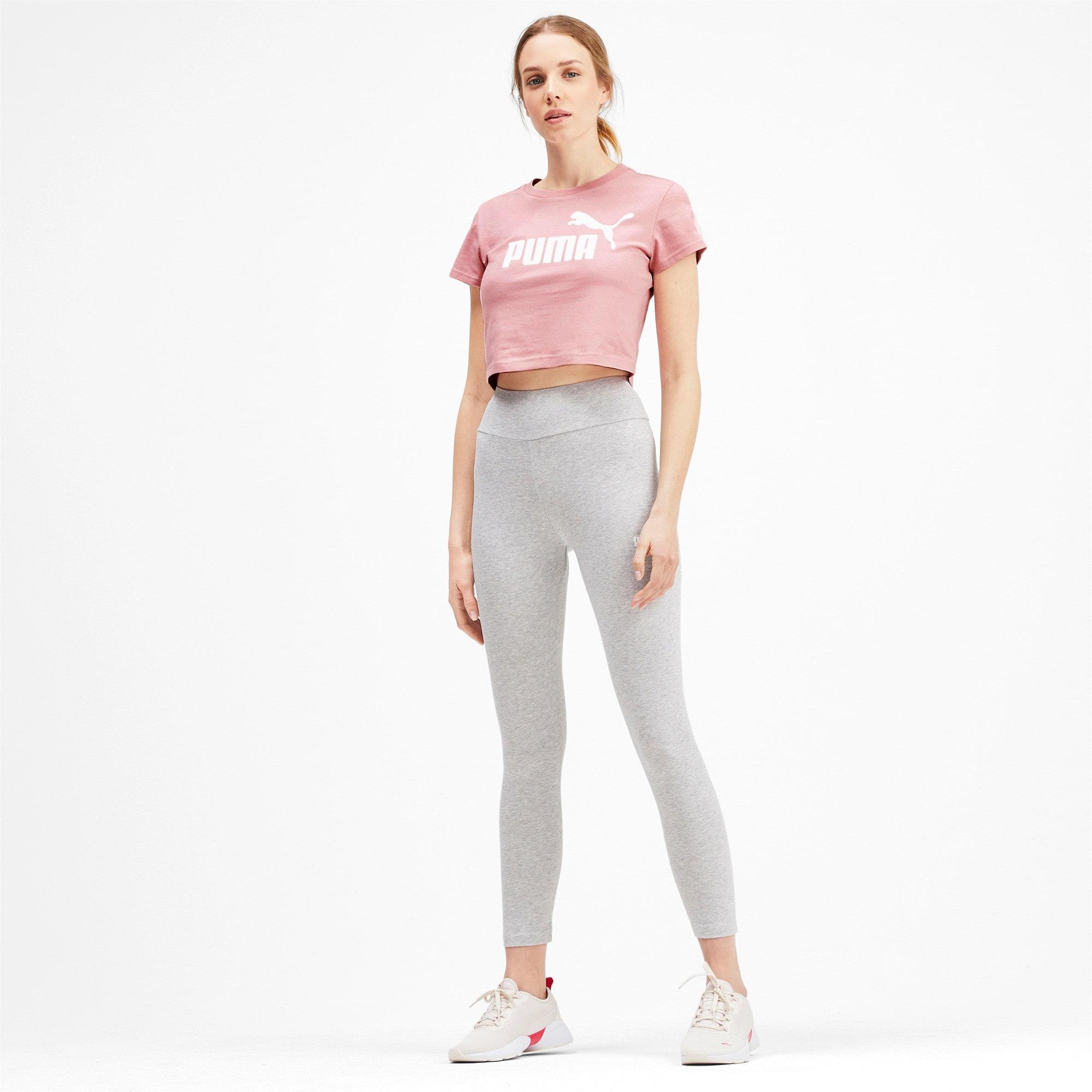 Miniatura 3 de Camiseta ajustada con logo Amplified para mujer, Bridal Rose, mediano