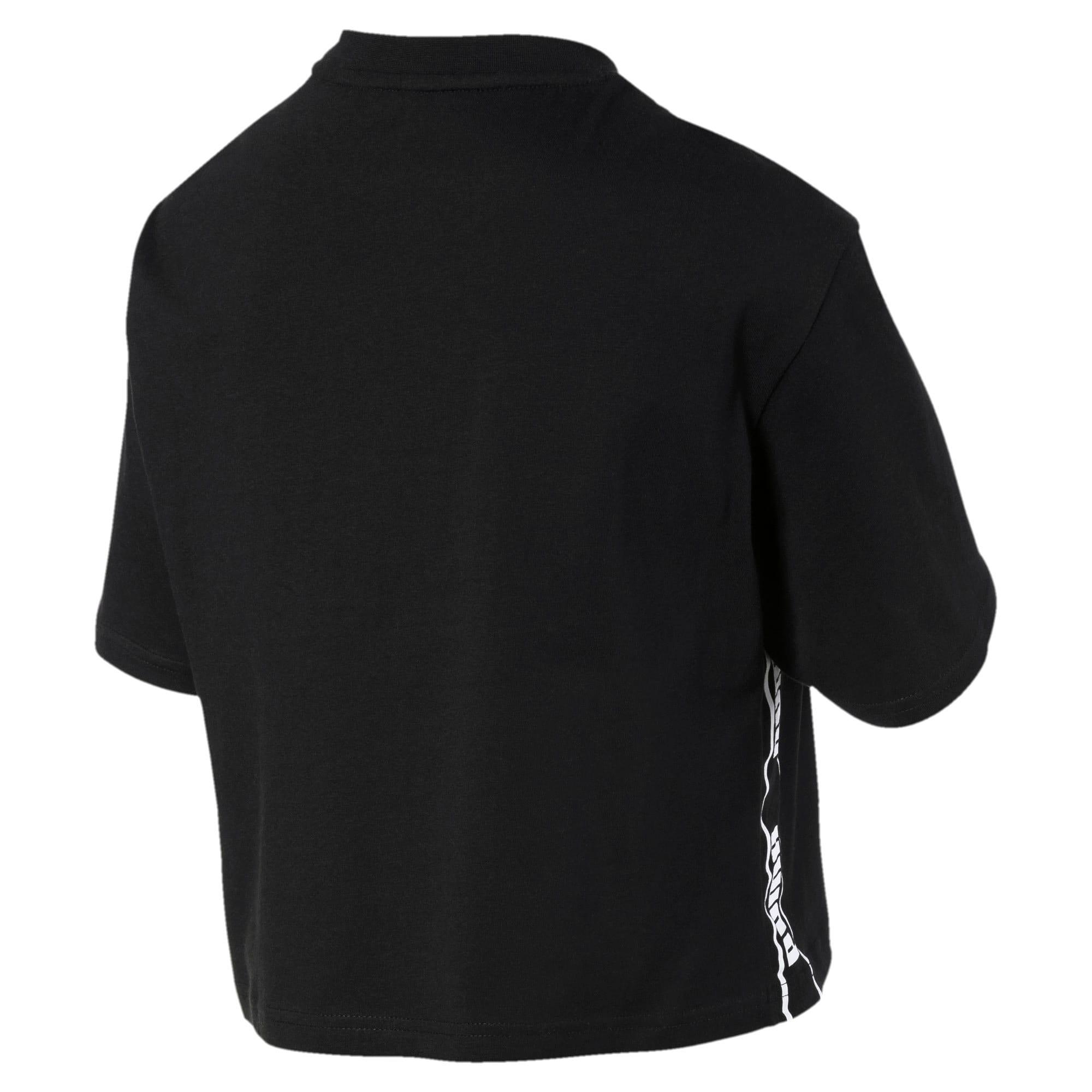Miniatura 5 de Camiseta corta Amplified para mujer, Puma Black, mediano