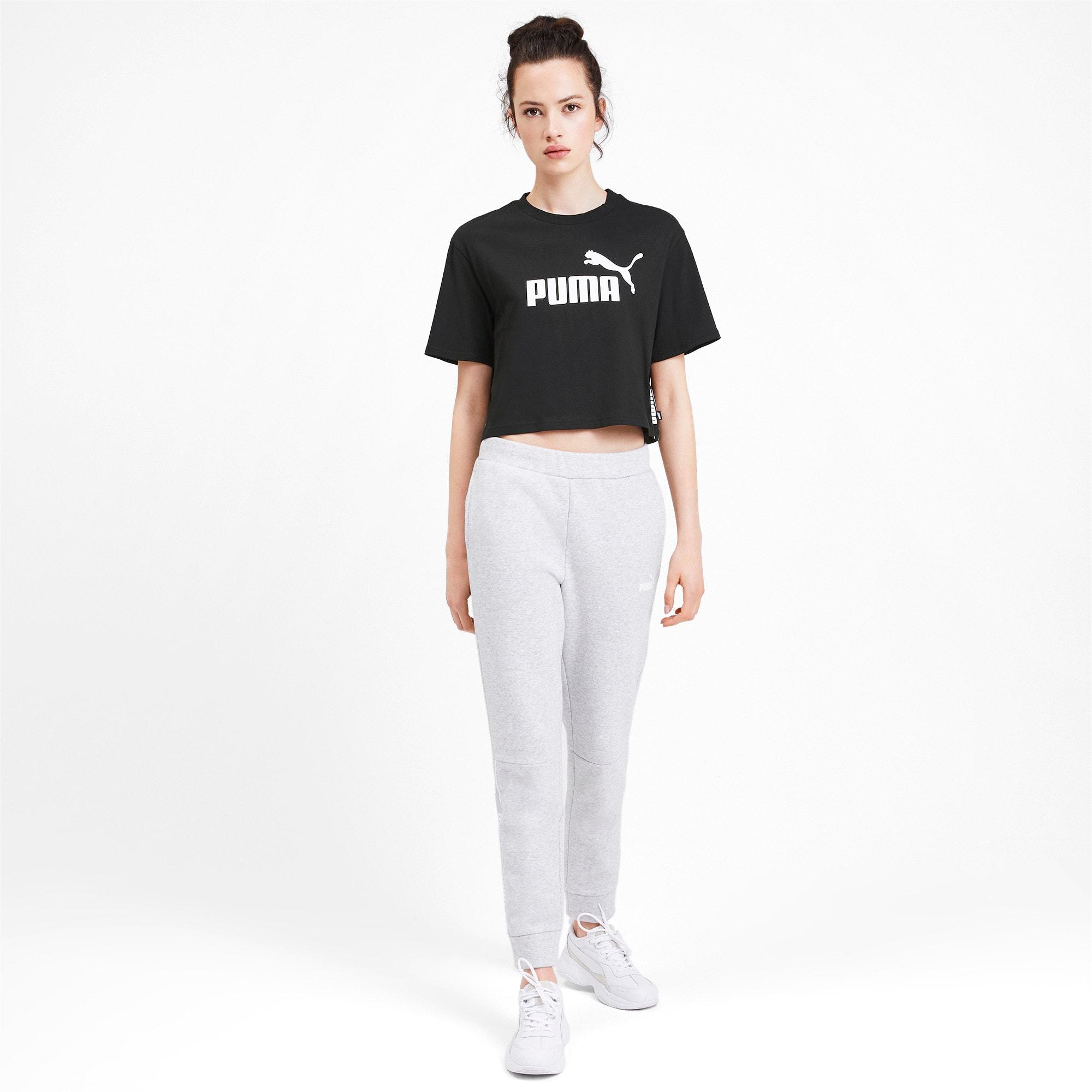 Miniatura 4 de Camiseta corta Amplified para mujer, Puma Black, mediano
